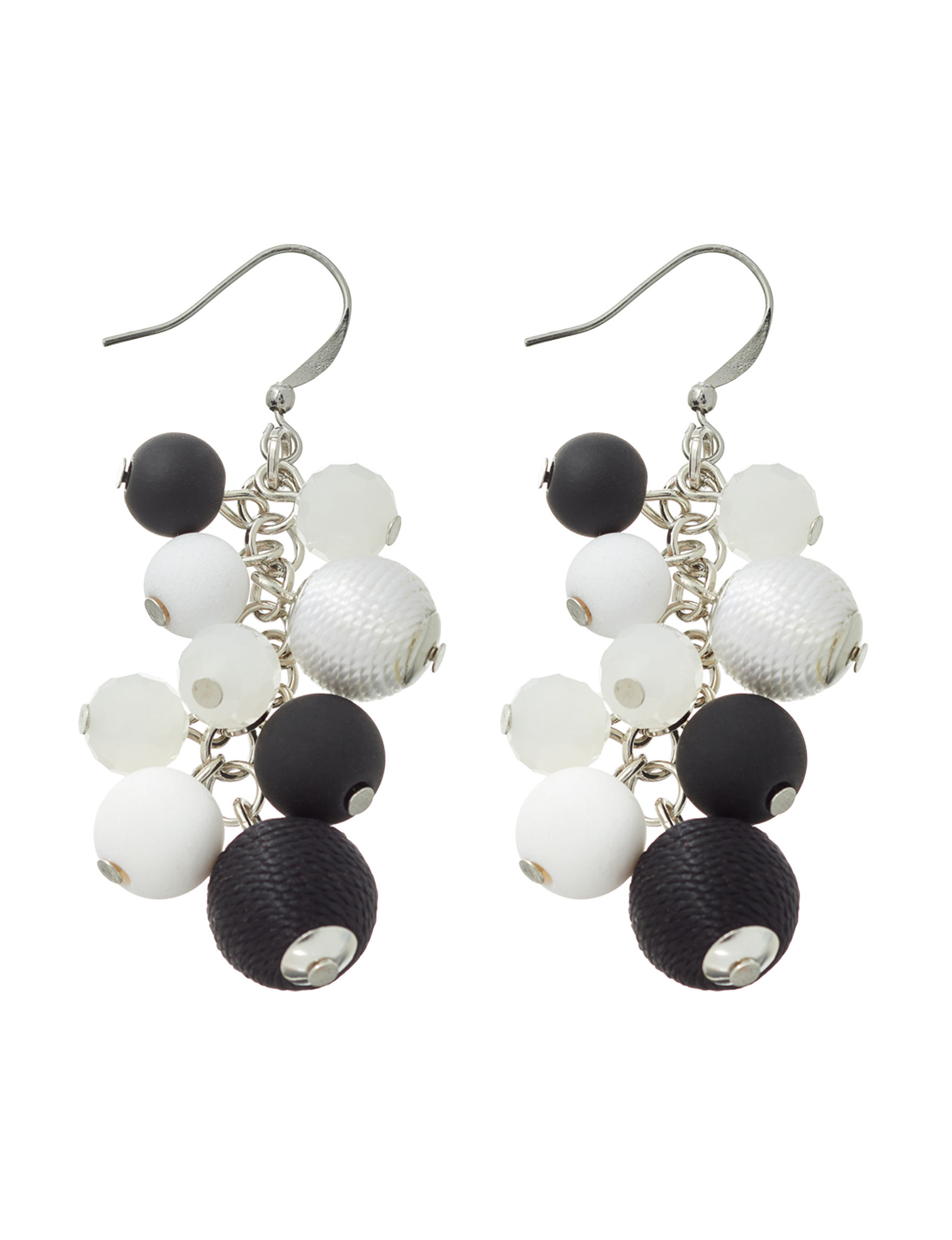 Hannah Black / Multi Drops Earrings Fashion Jewelry