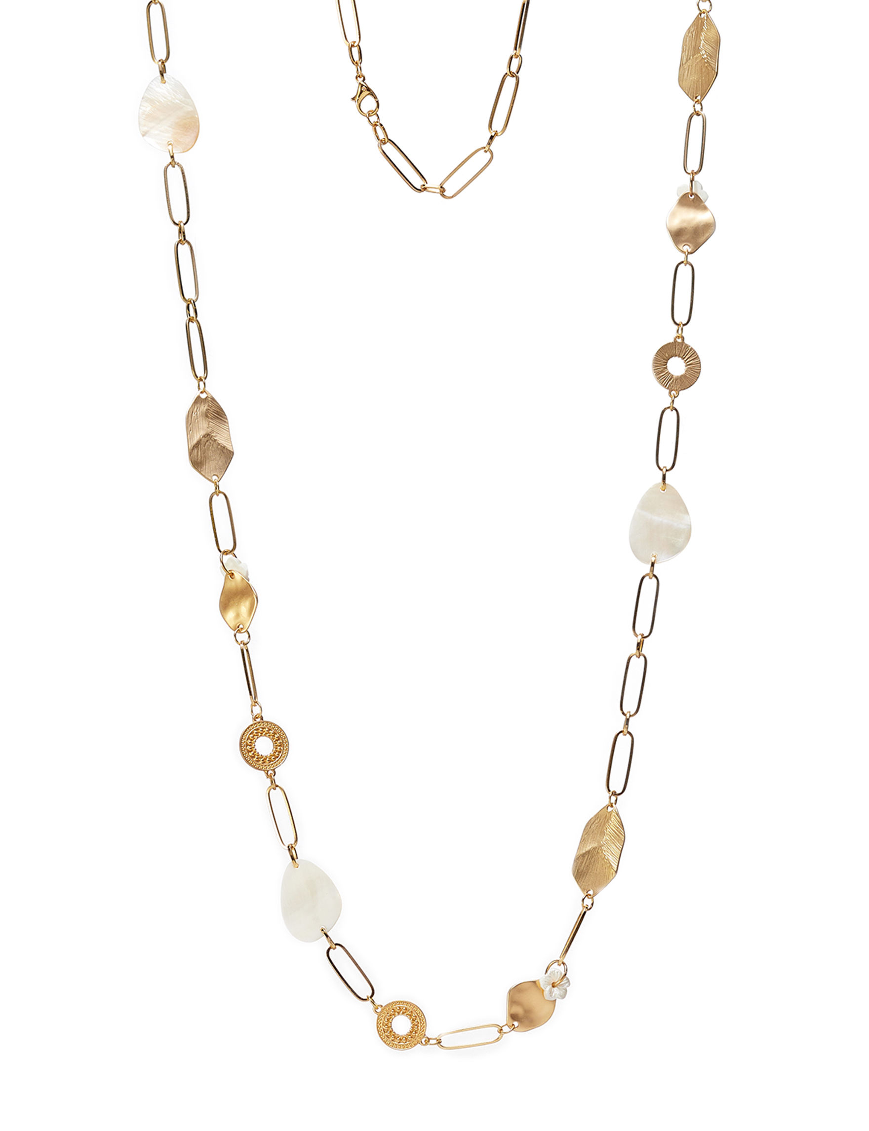 Hannah White / Gold Necklaces & Pendants Fashion Jewelry