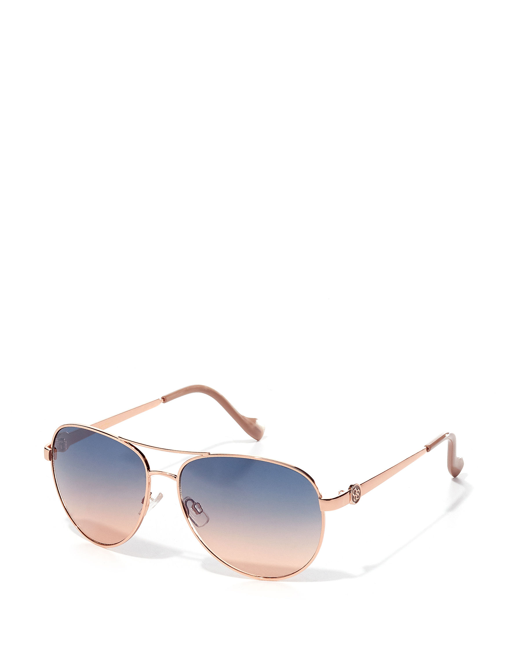 Jessica Simpson Rose Gold Aviator