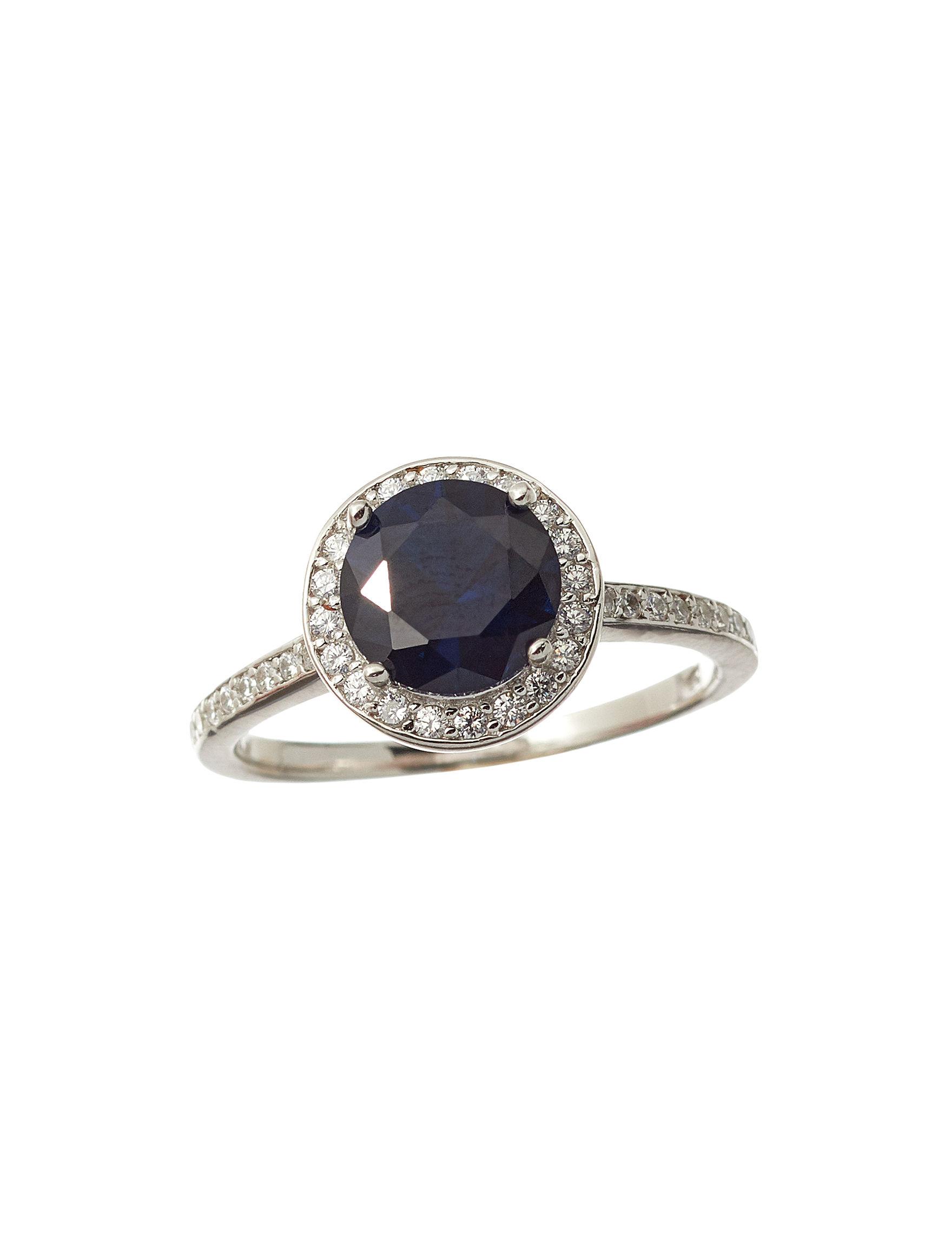NES Blue Rings Fine Jewelry