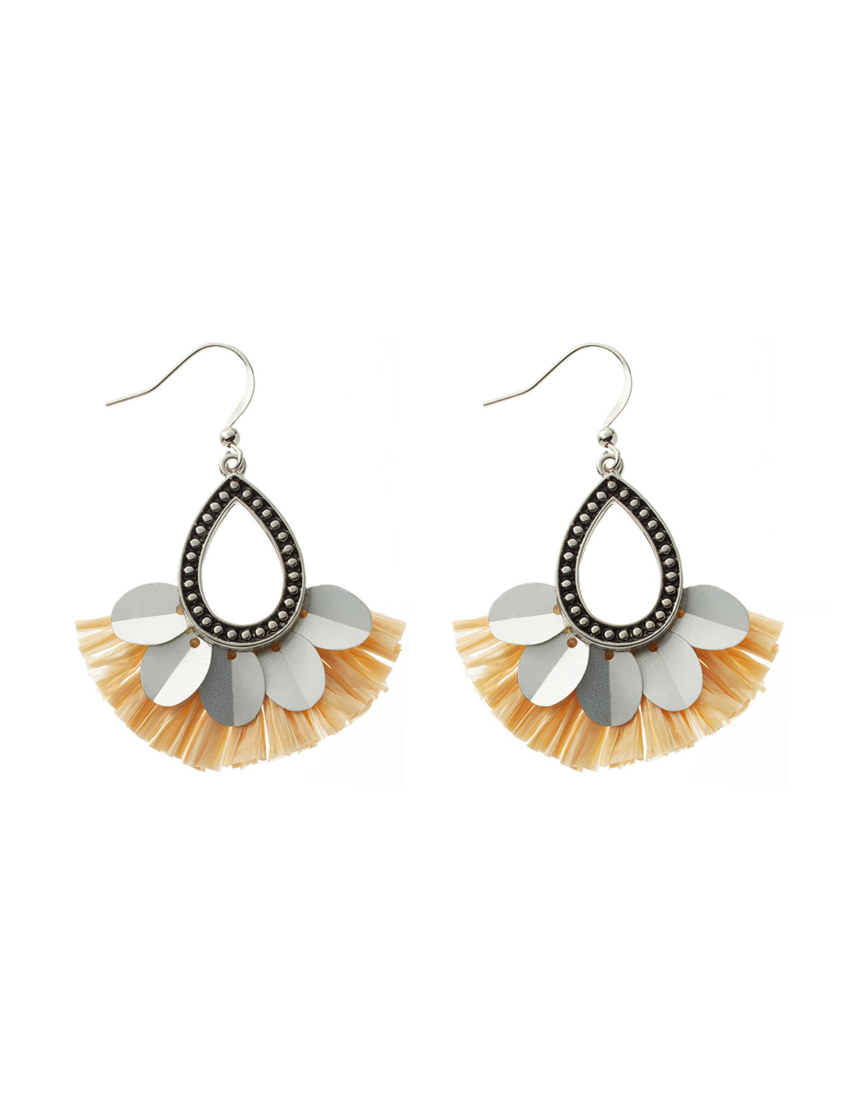Hannah Silver / Multi Drops Earrings Fashion Jewelry