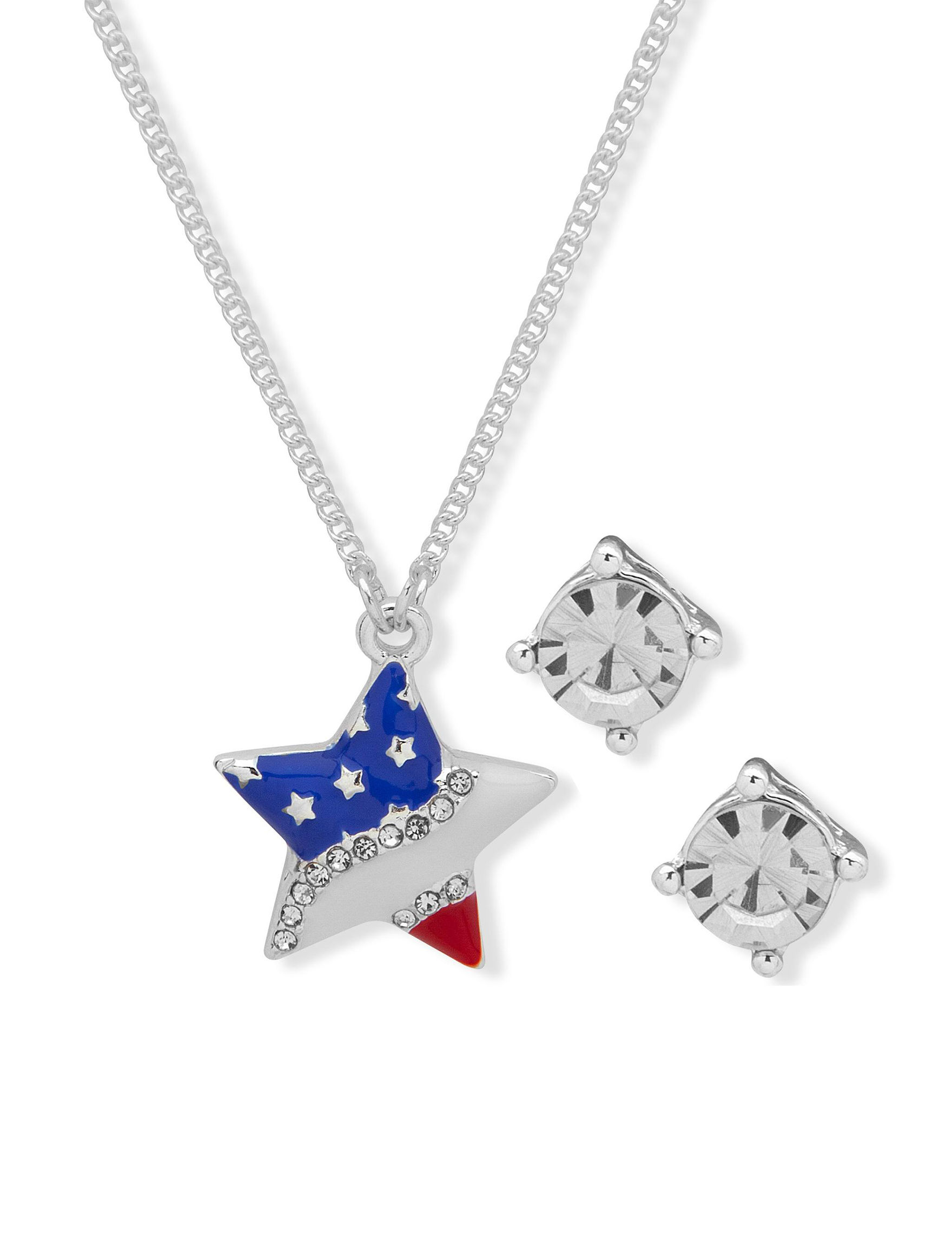 Nine West Silver / Multi Jewelry Sets Fashion Jewelry