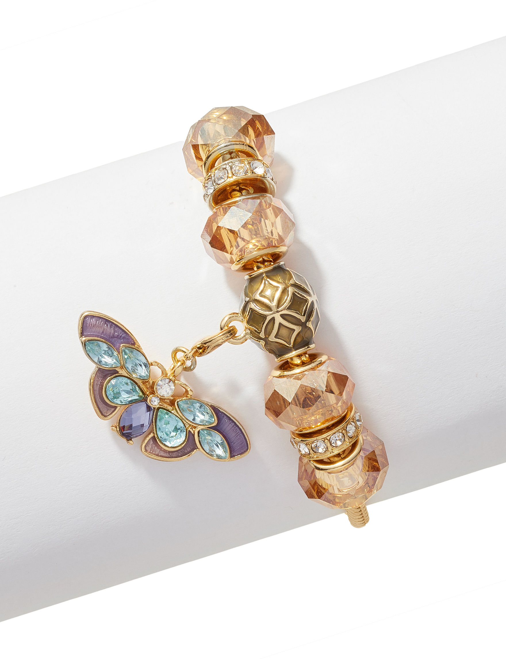 Napier Gold / Multi Bracelets Fashion Jewelry