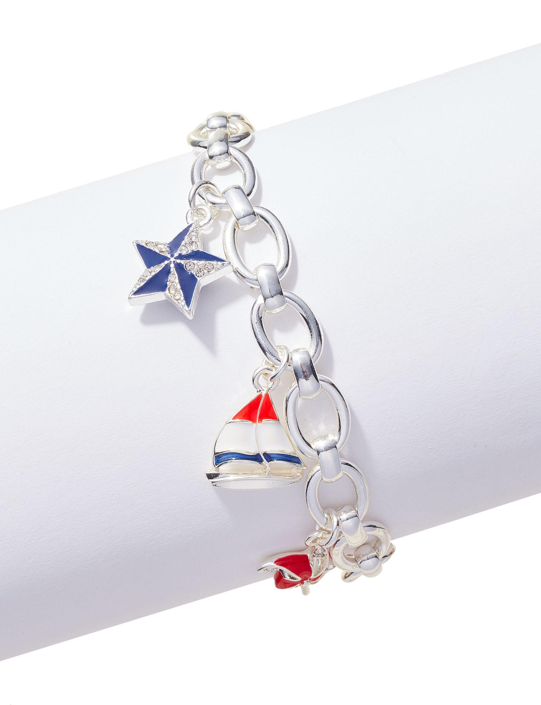 Napier Silver / Multi Bracelets Fashion Jewelry