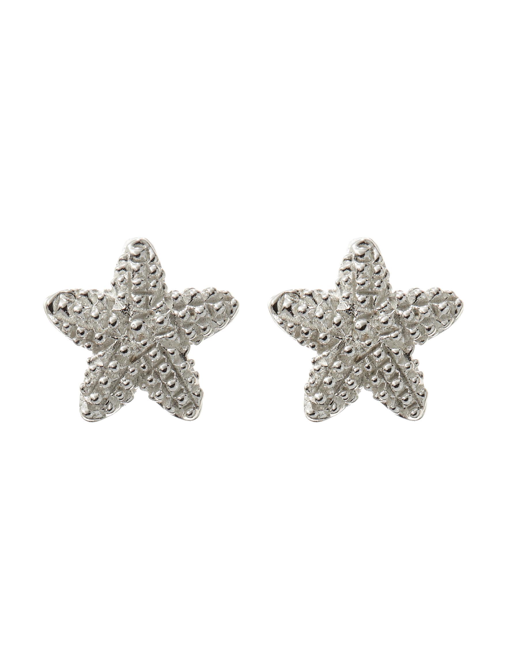 Danecraft Silver Studs Earrings Fine Jewelry