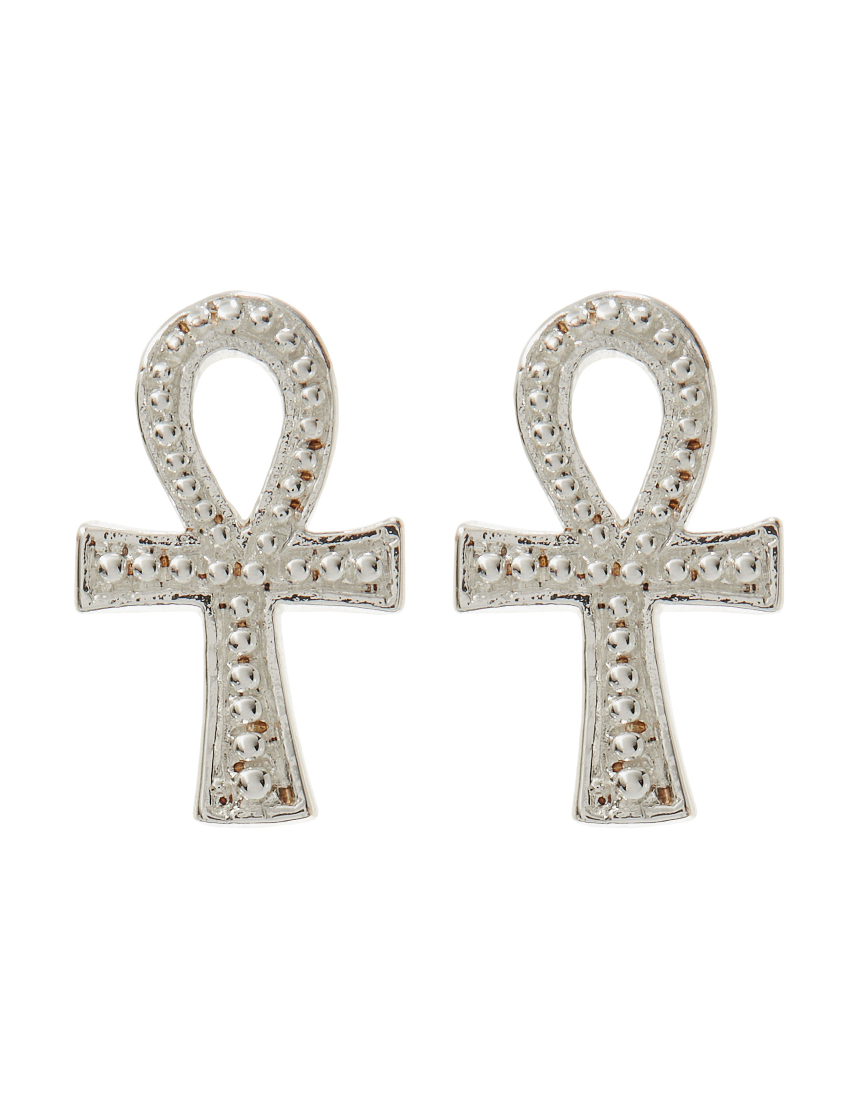 Danecraft Silver Studs Earrings Fine Jewelry