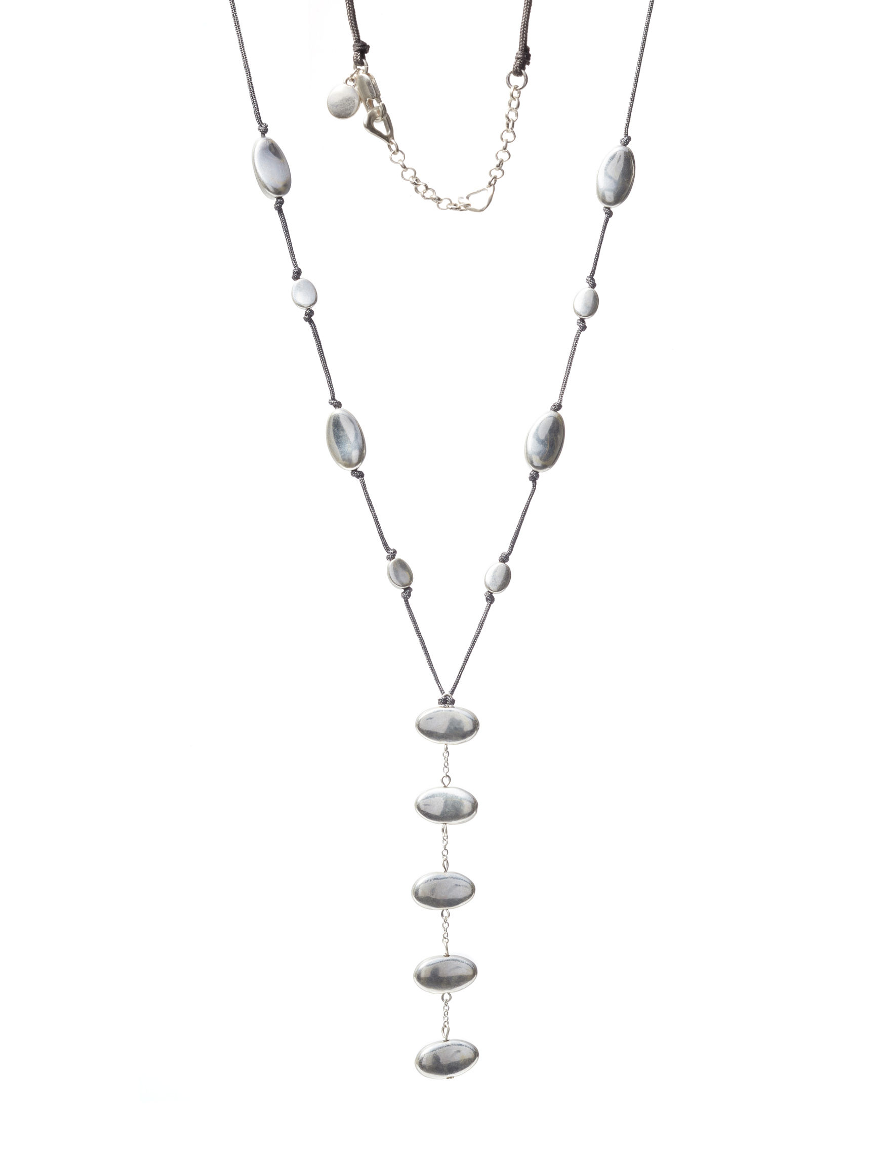 Bella Uno Silver Necklaces & Pendants Fashion Jewelry