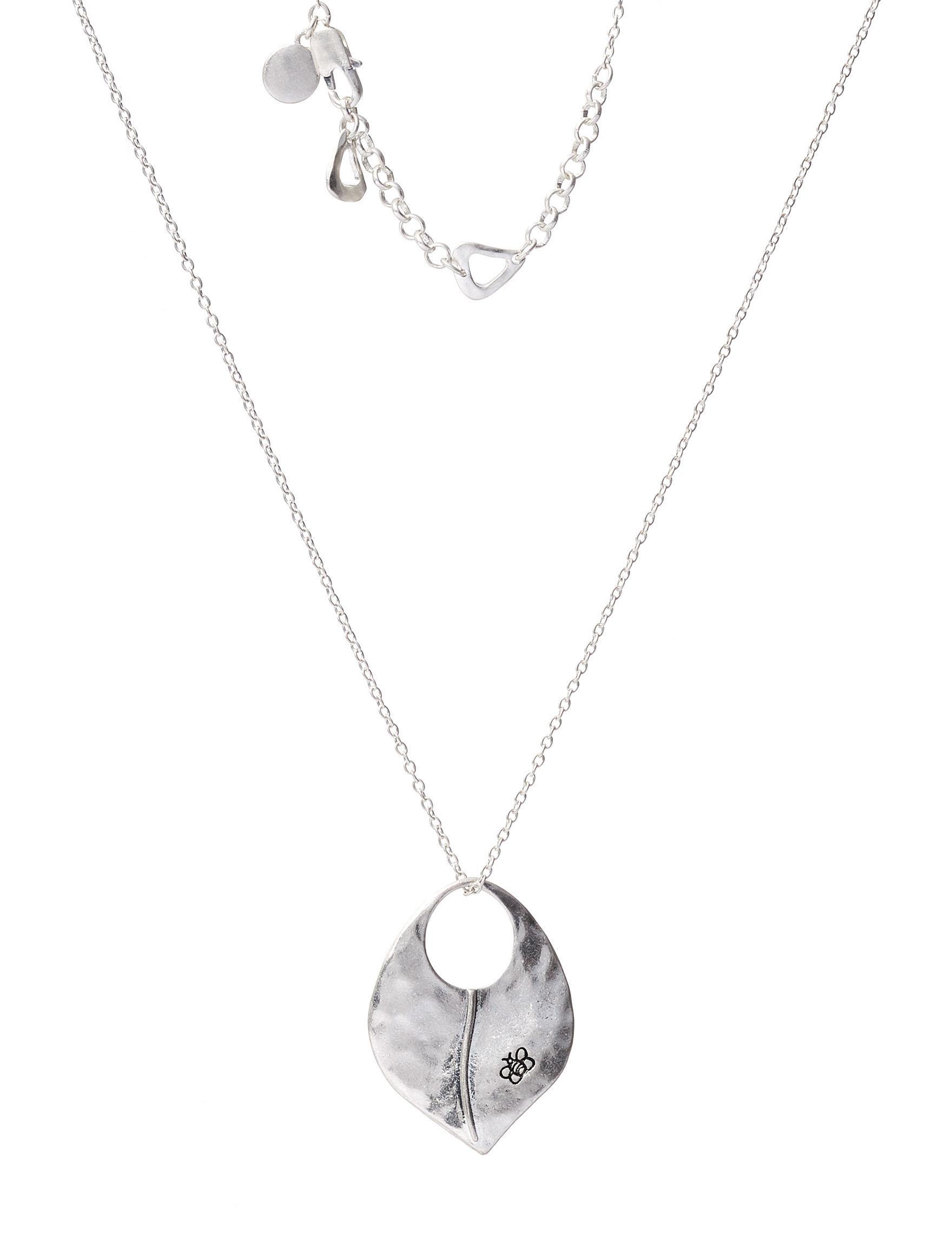 Bella Uno Silver Necklaces & Pendants Fashion Jewelry