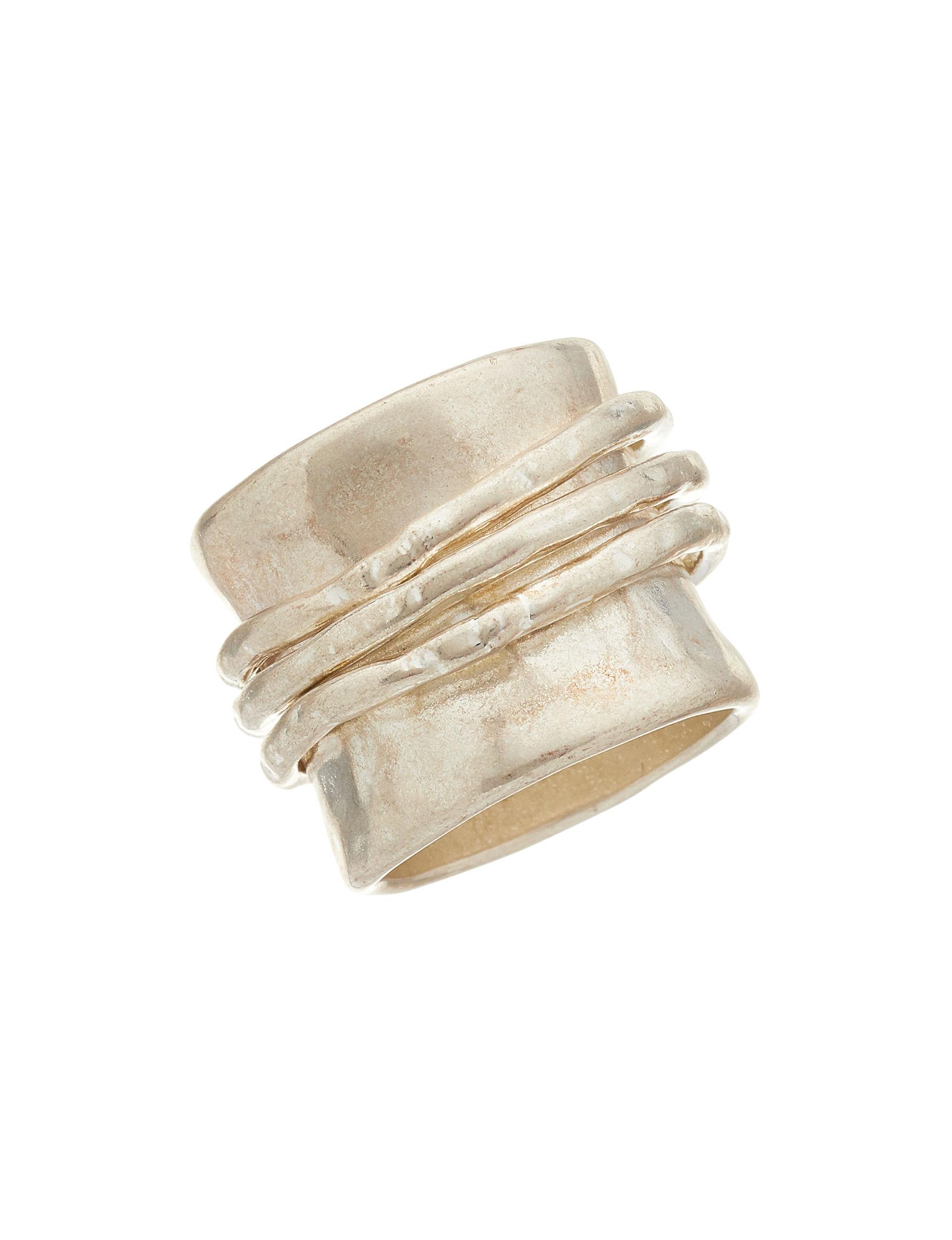Bella Uno Silver Rings Fashion Jewelry