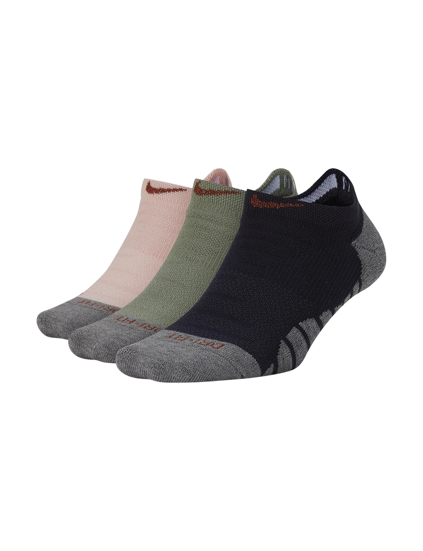 Nike Grey Multi Socks