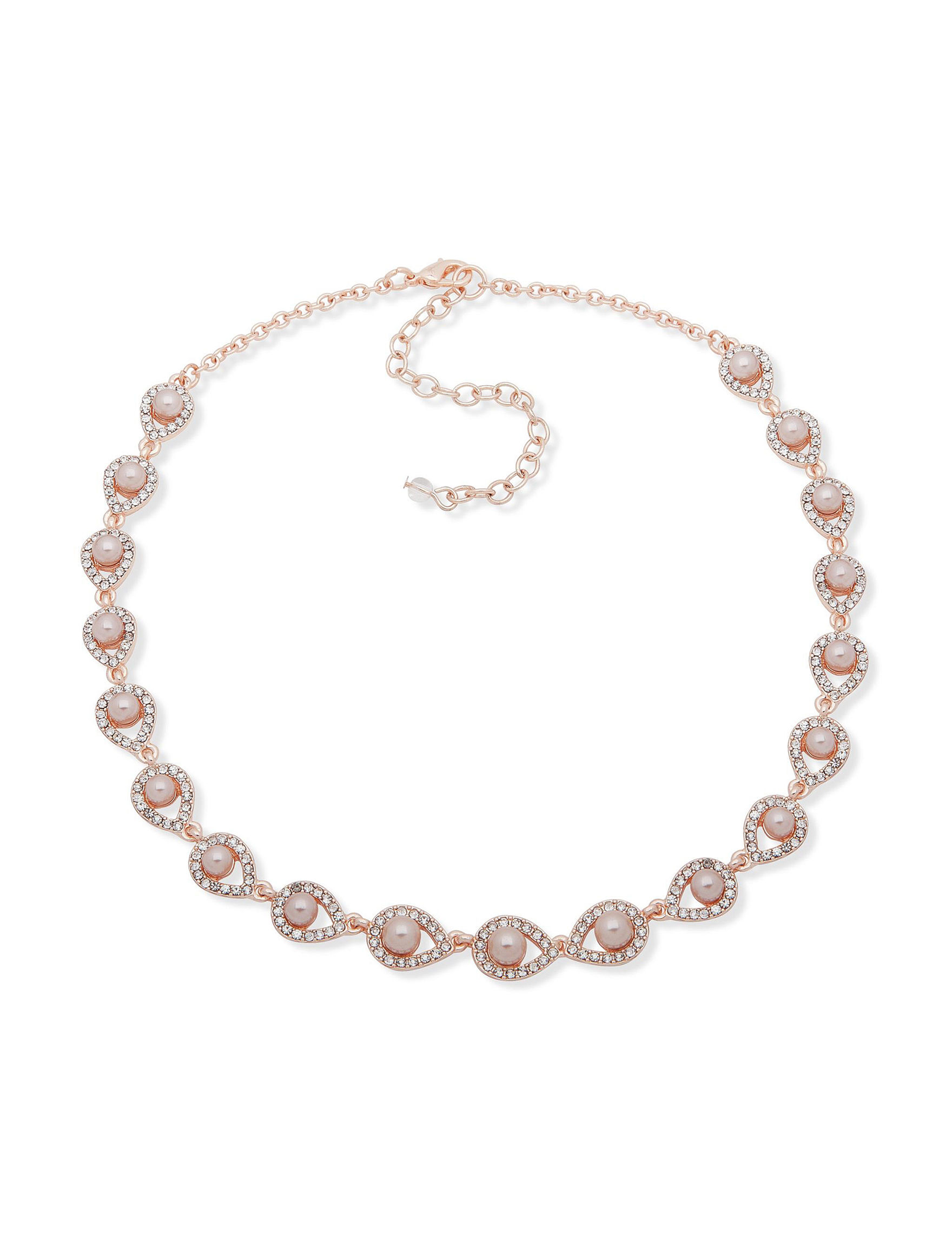 You're Invited Rose Gold / Pink Necklaces & Pendants Fashion Jewelry