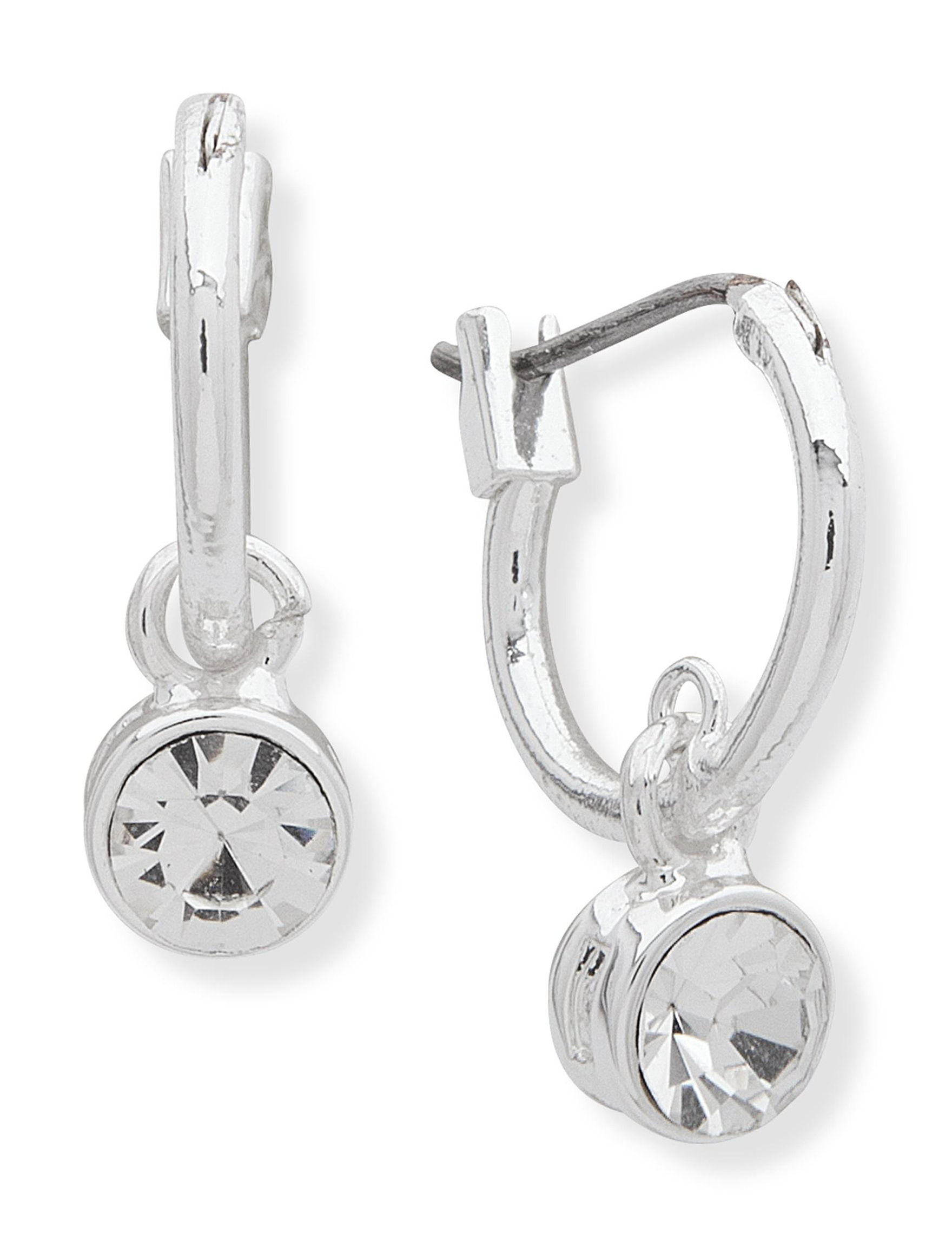 You're Invited Silver Drops Earrings Fashion Jewelry