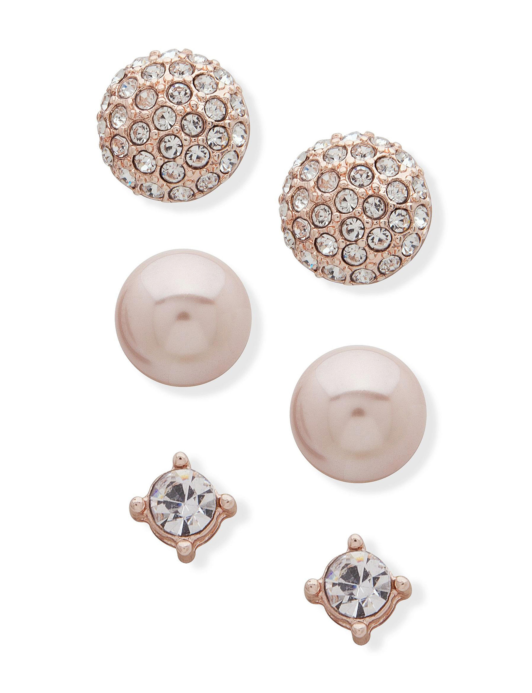 You're Invited Rose Gold Earrings Fashion Jewelry