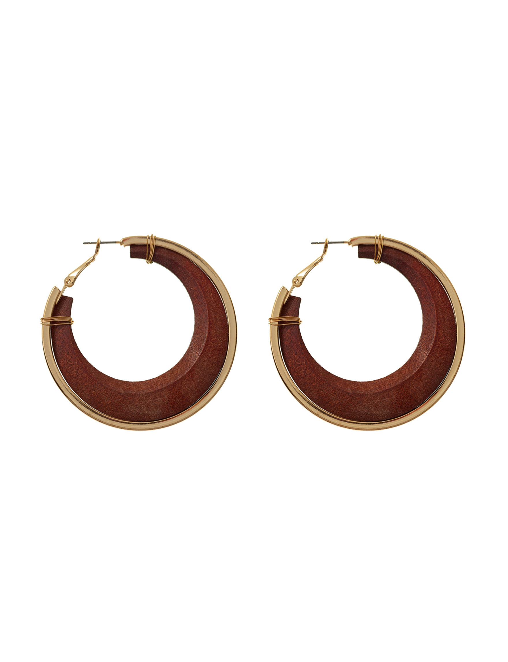 Hannah Brown Hoops Fashion Jewelry