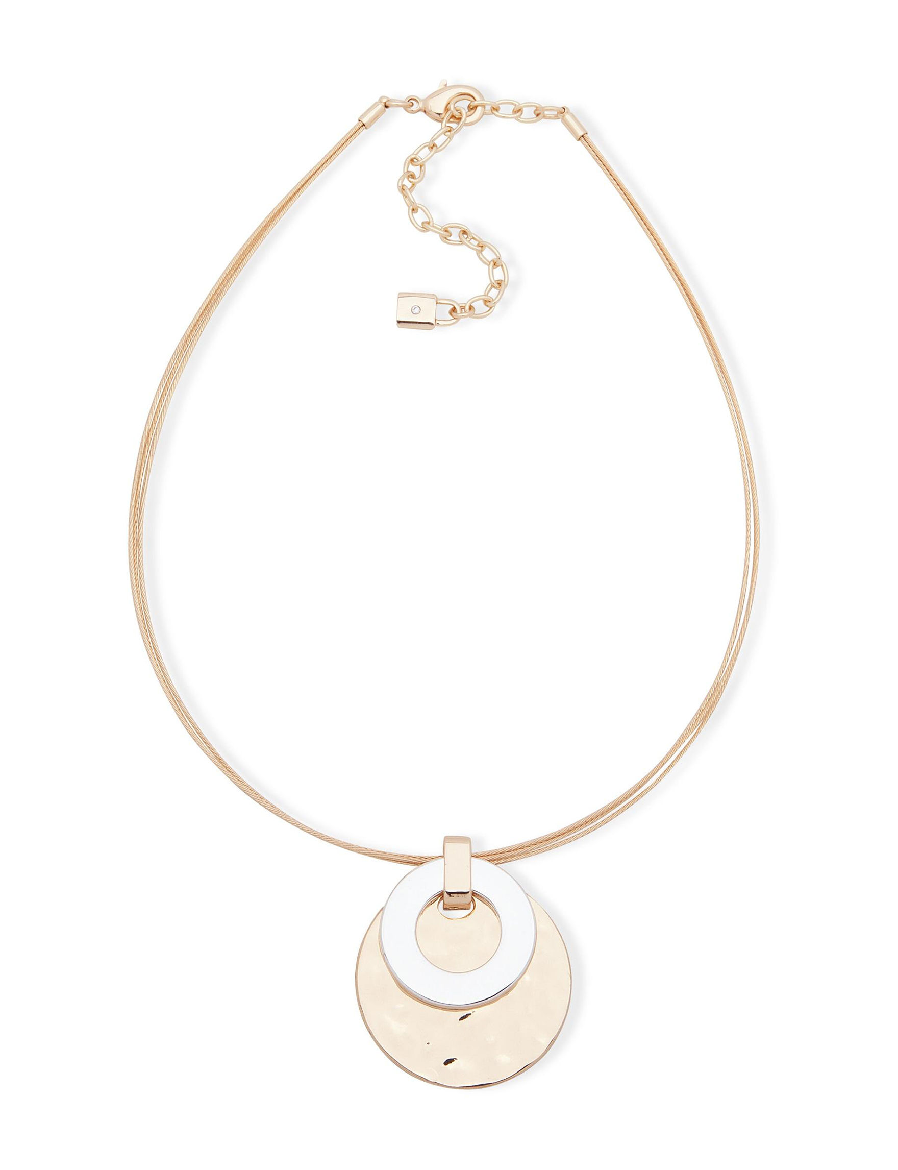 Chaps Silver / Gold Necklaces & Pendants Fashion Jewelry