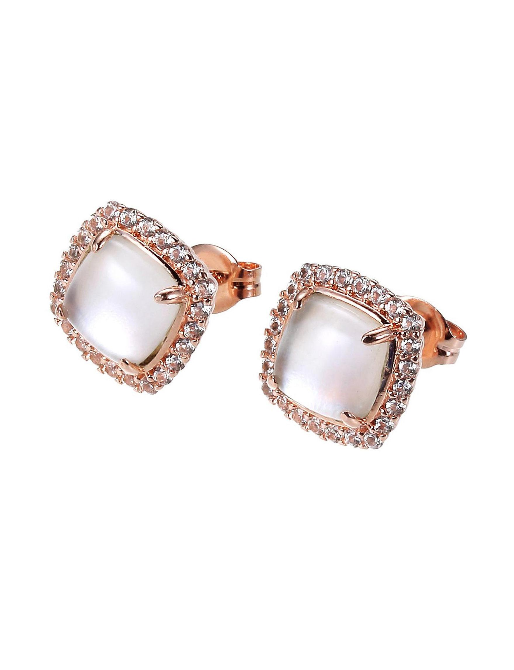 PAJ INC. Pearl Studs Earrings Fine Jewelry