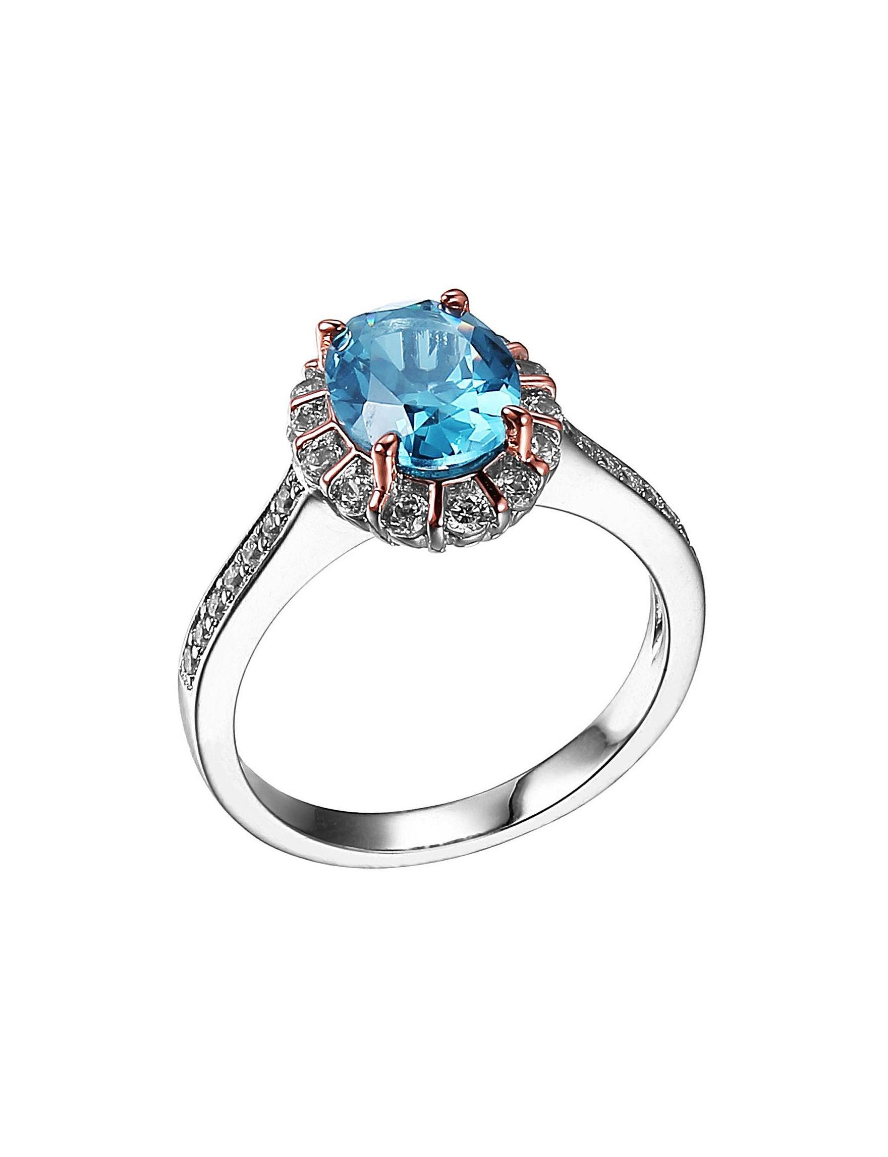 PAJ INC. Blue Rings Fine Jewelry
