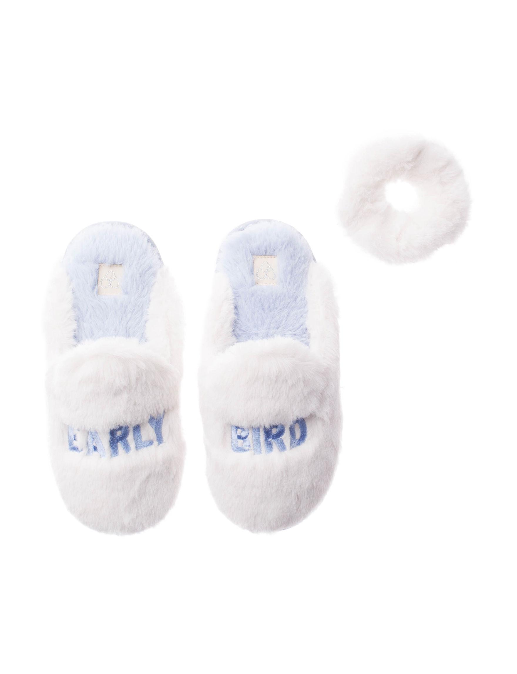 Dearfoams Off White Slipper Shoes