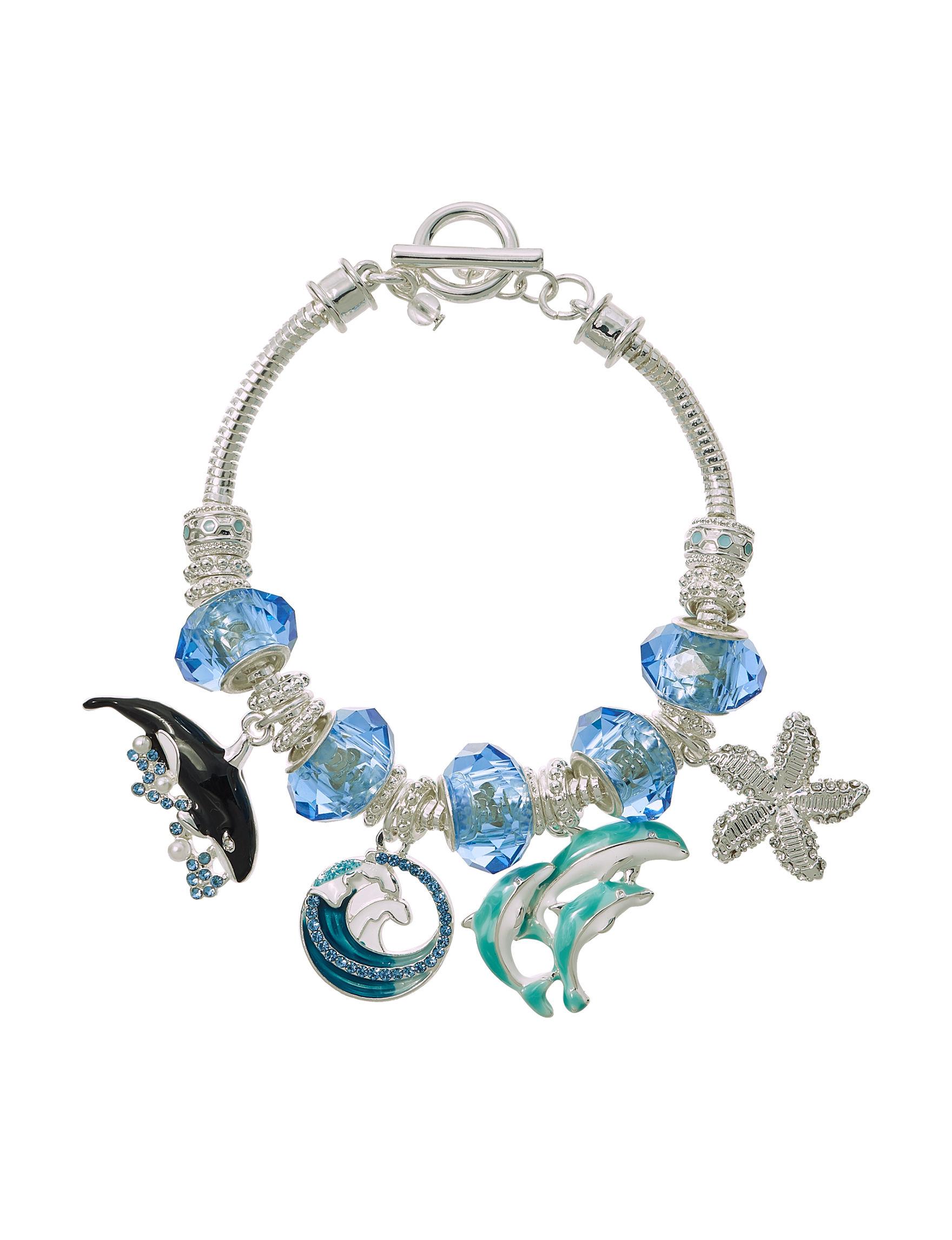 Napier Blue Bracelets Fashion Jewelry