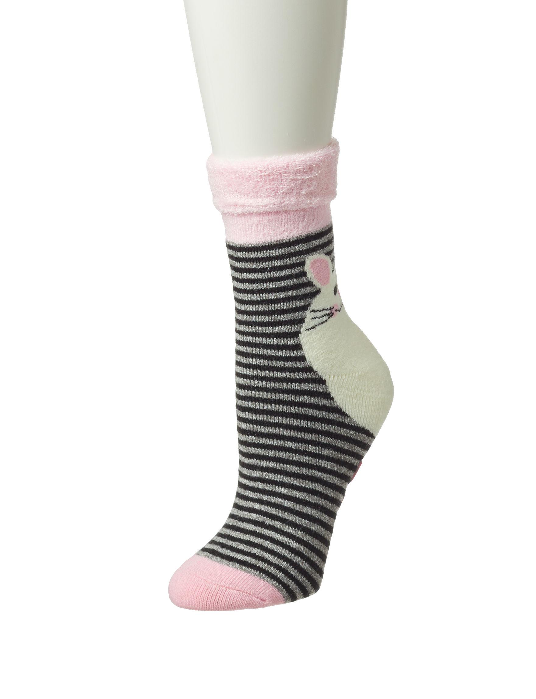 Keep Your Socks On Pink / Multi Socks