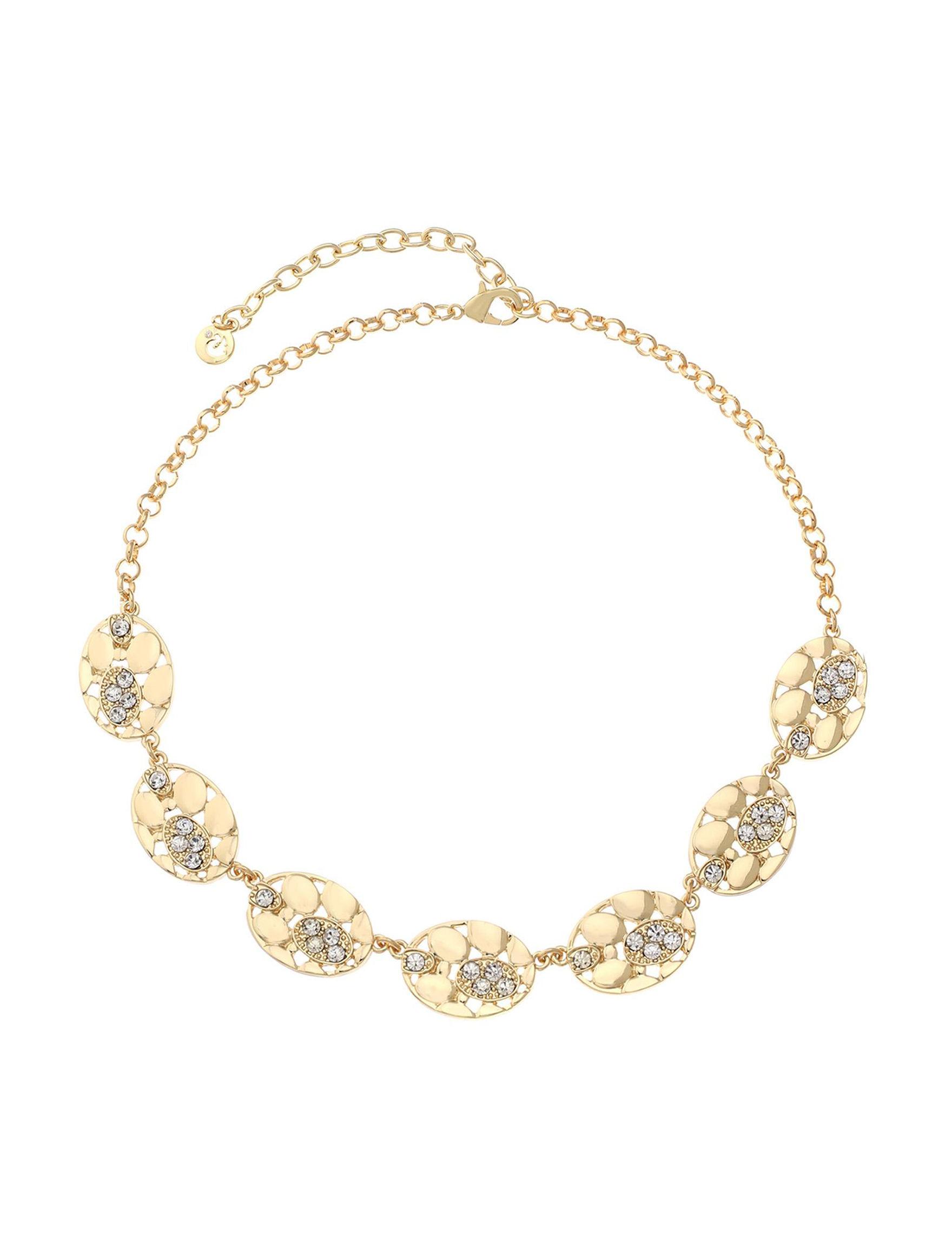 Gloria Vanderbilt Gold Necklaces & Pendants Fashion Jewelry