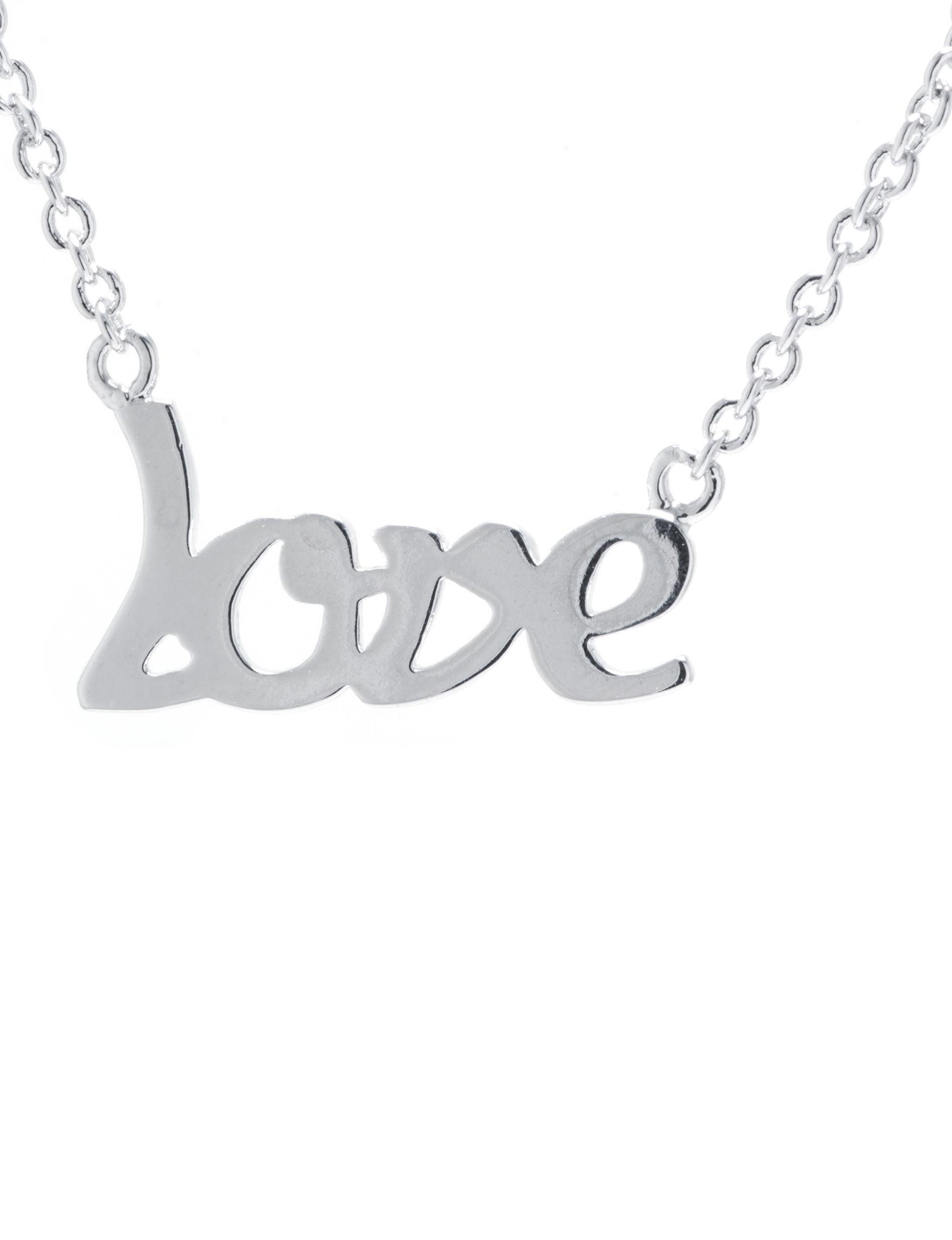 Athra Silver Necklaces & Pendants Fine Jewelry
