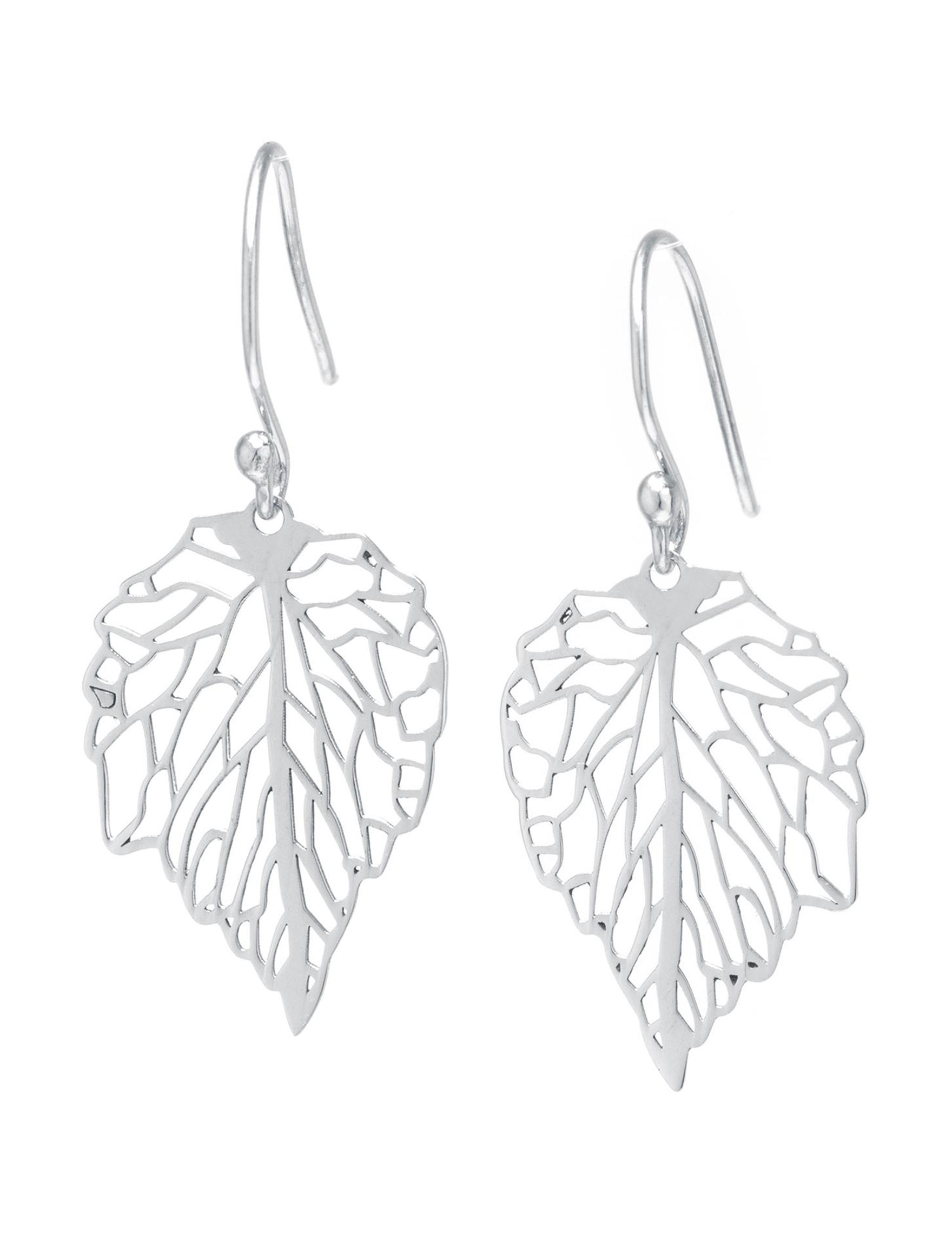 Athra Silver Drops Earrings Fine Jewelry