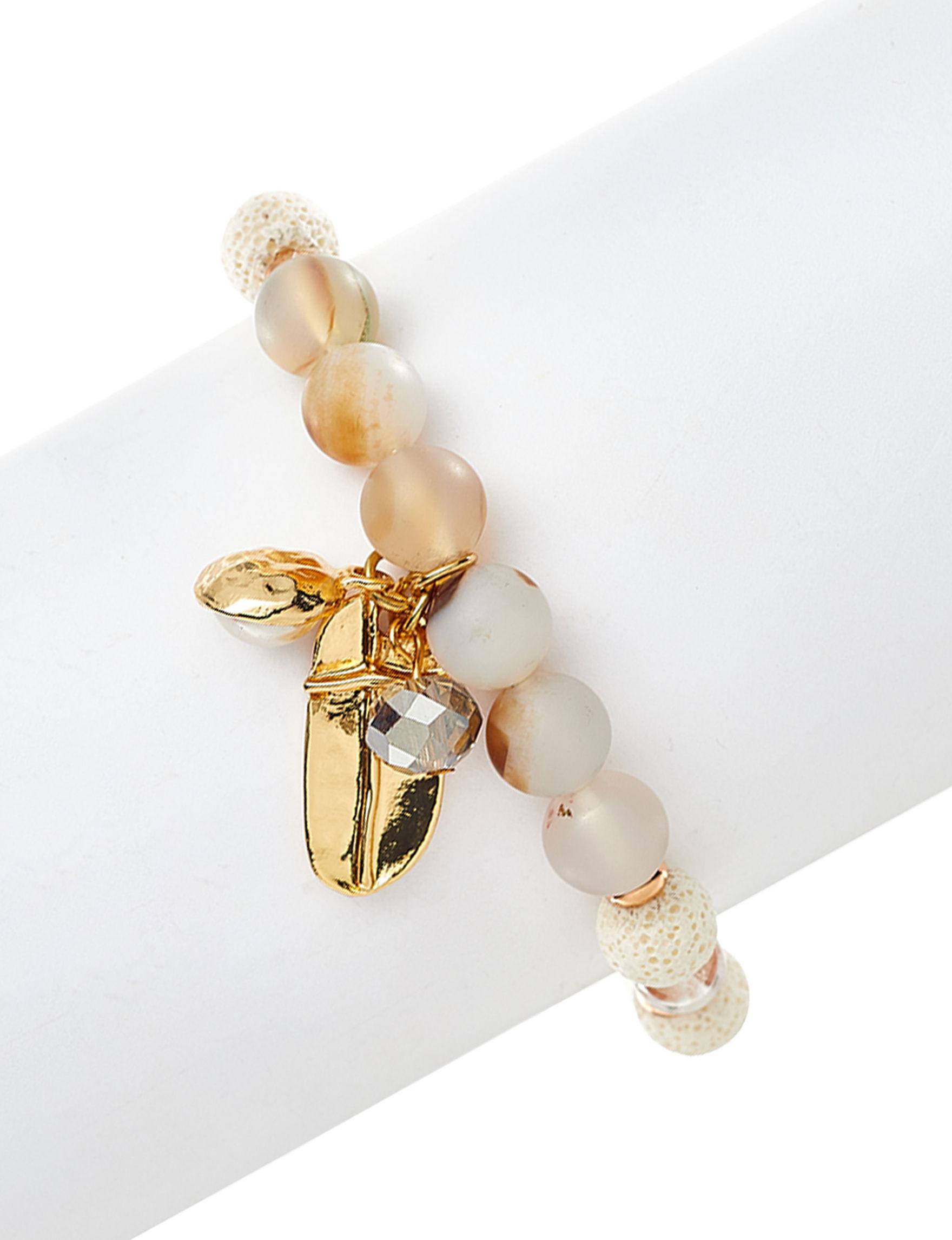 Marsala Gold / Multi Bracelets Fine Jewelry