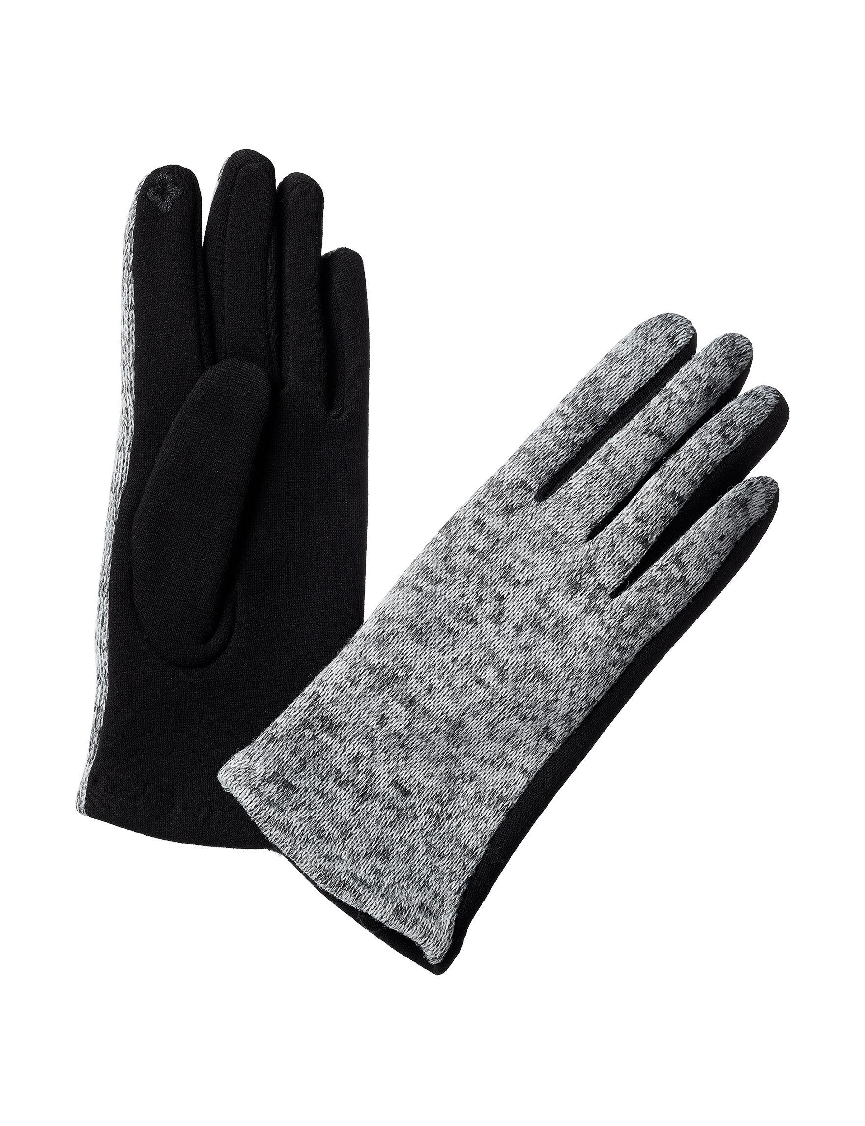 GII Grey / Black Gloves & Mittens