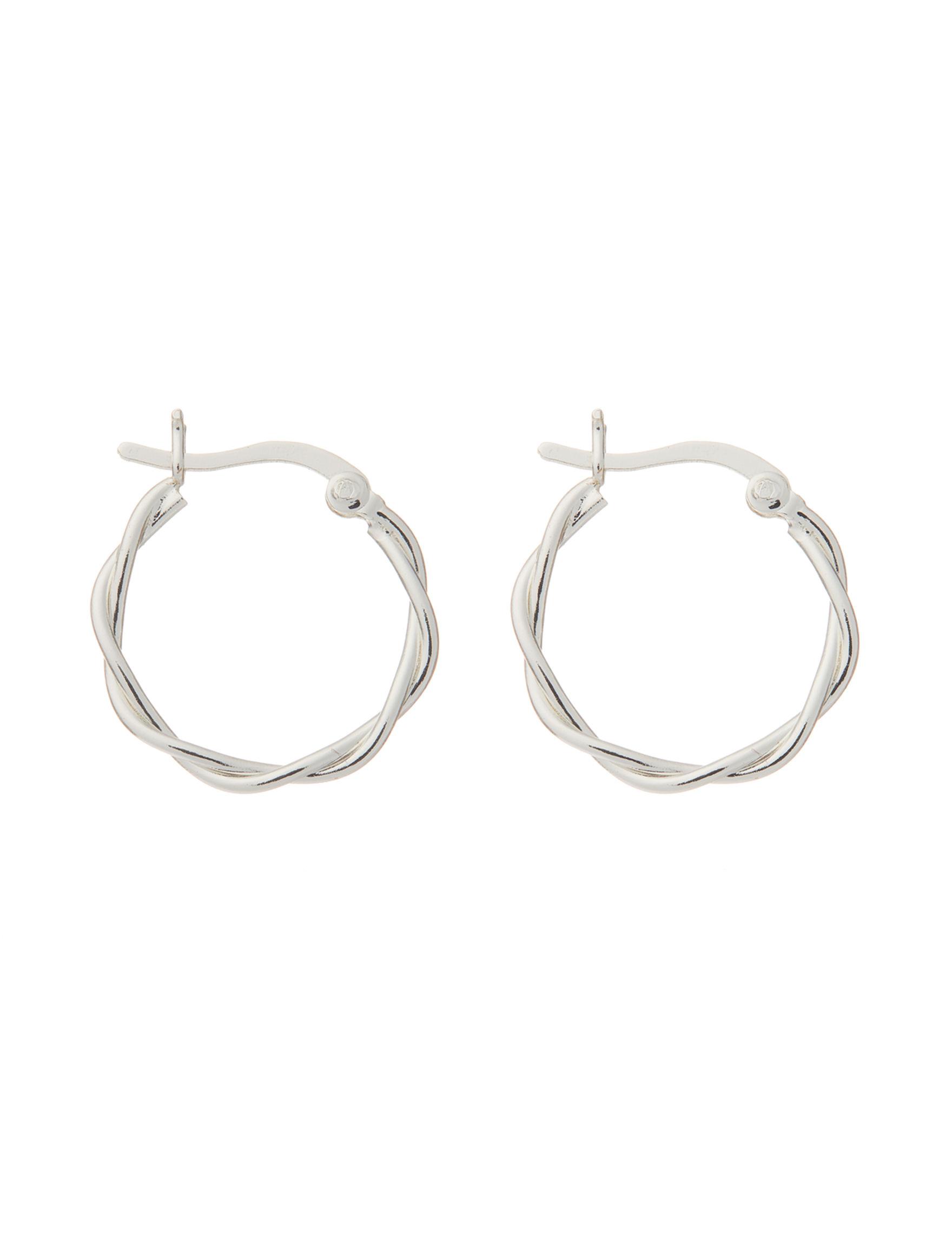 Danecraft Sterling Silver Earrings Fine Jewelry
