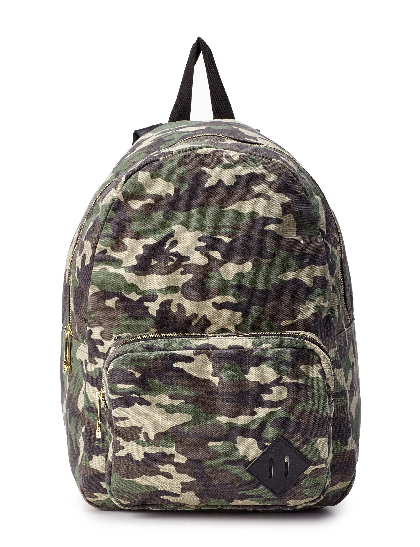 girl camo backpack