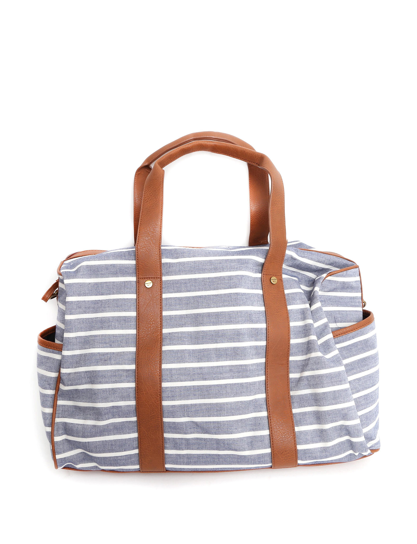 Madden Girl Chambray Weekend Bags
