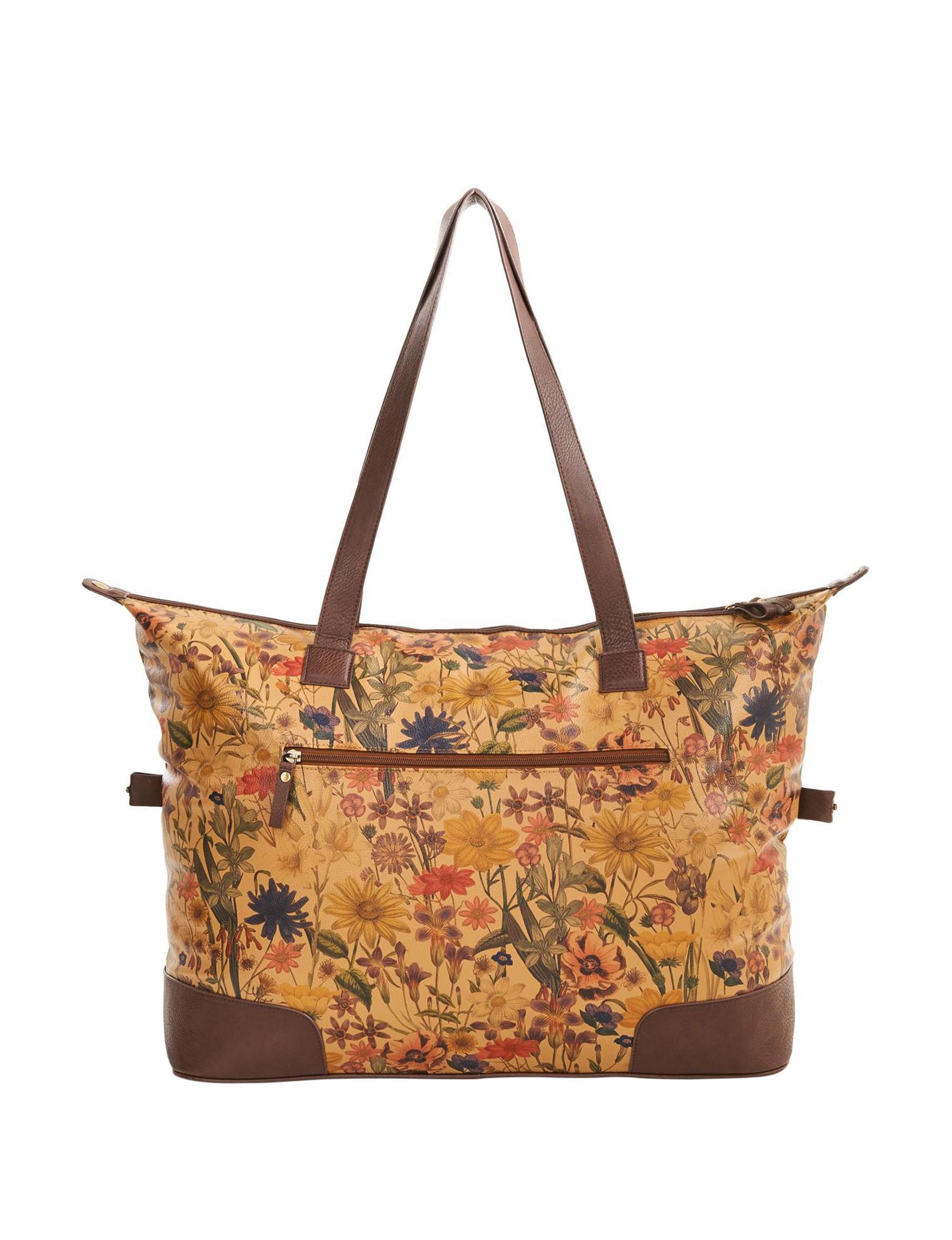 Bueno Tan Weekend Bags