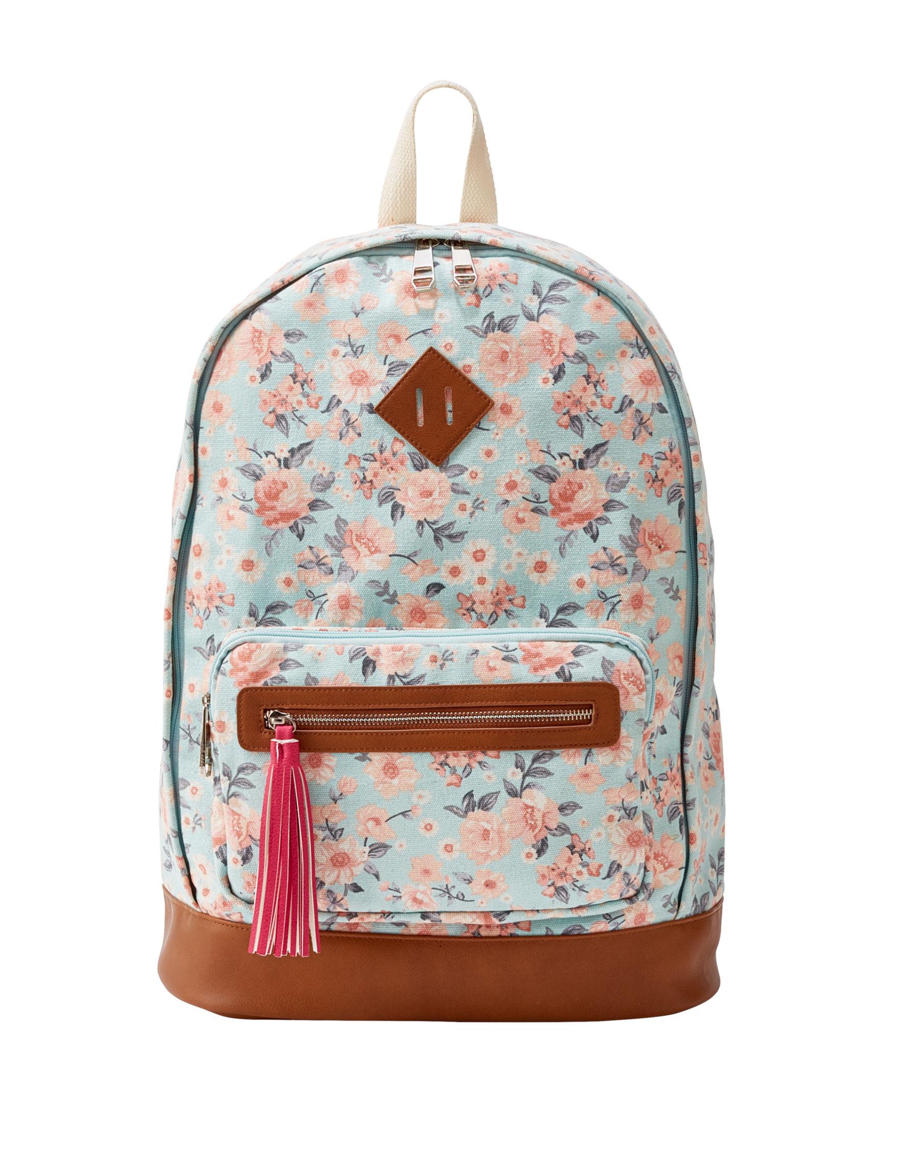 Madden Girl Mint Bookbags & Backpacks