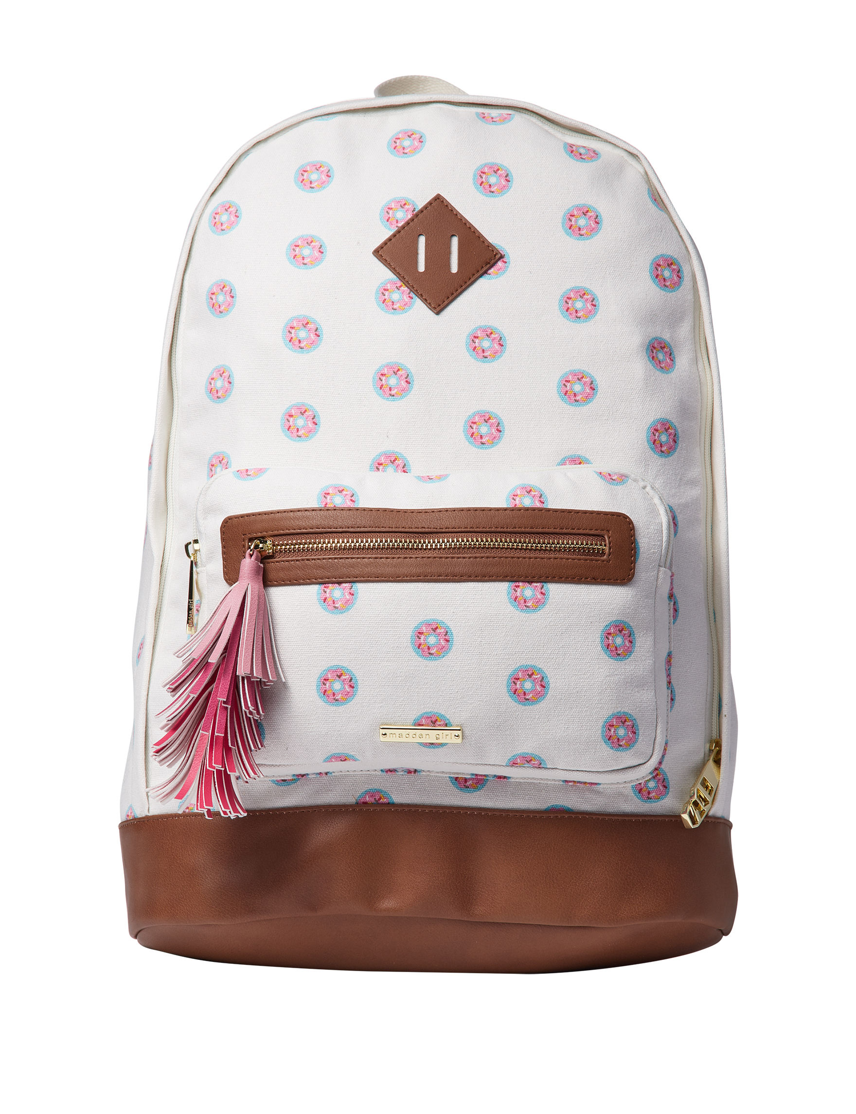 Madden Girl Beige Bookbags & Backpacks