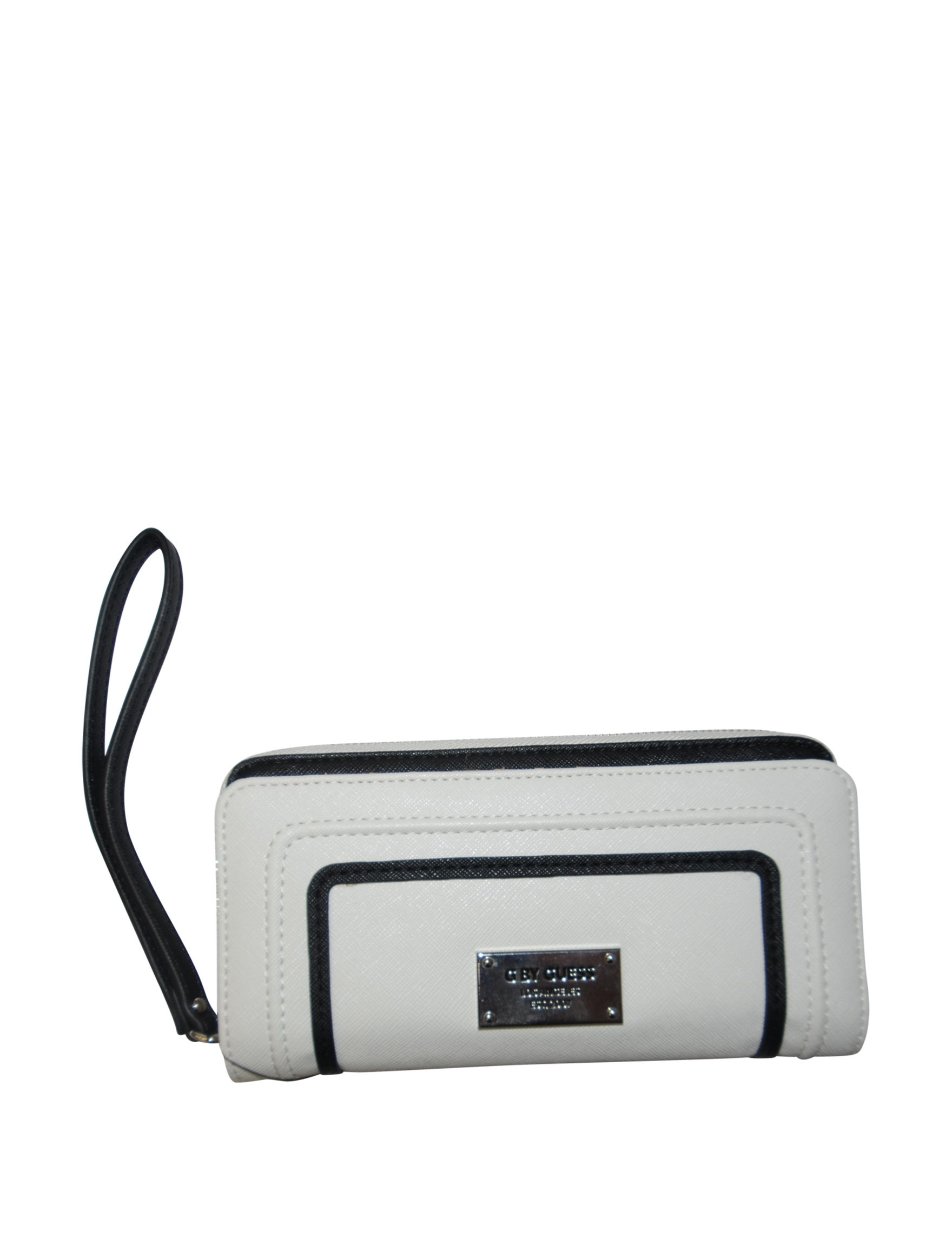 G by Guess White Wallet Wristlet
