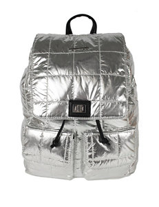 acb8cf50f1b Olivia Miller Clear Confetti Backpack. Doorbuster Rampage Silver
