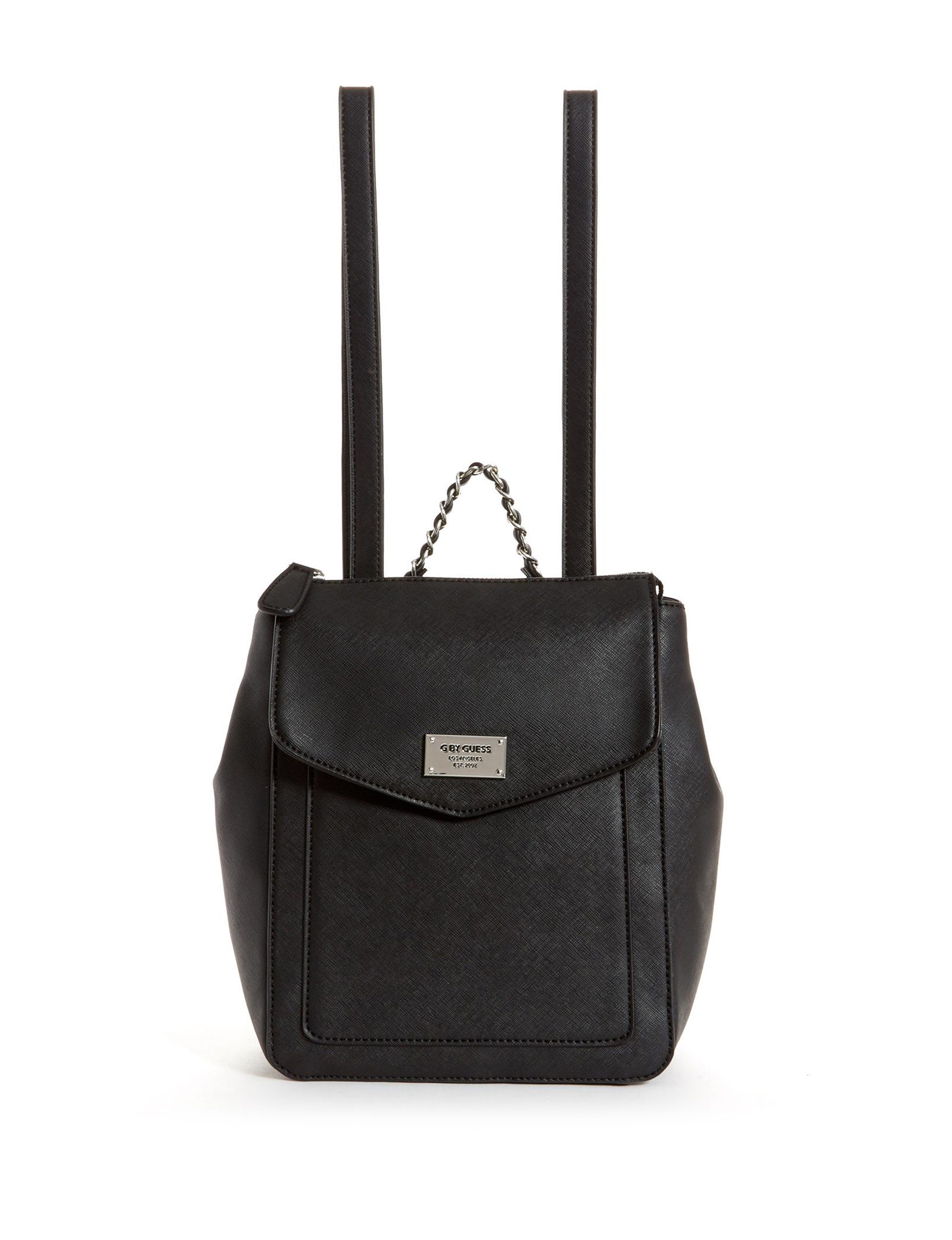 G by Guess Black Bookbags & Backpacks