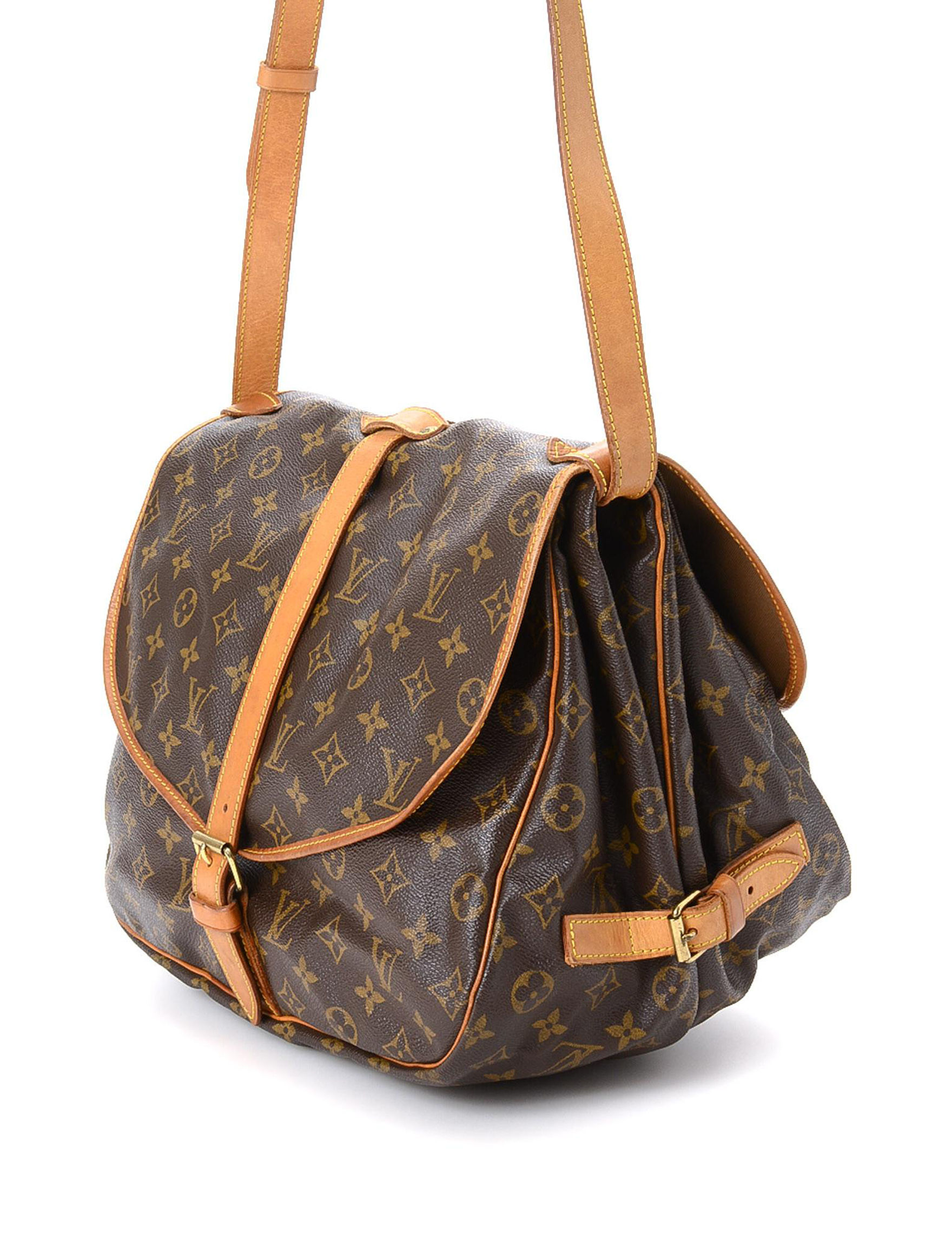 72a0268fd573 Luxury Pre-Owned Louis Vuitton Saumur 35 - FINAL SALE. Online Only. WEB ID    538973. product. product. product