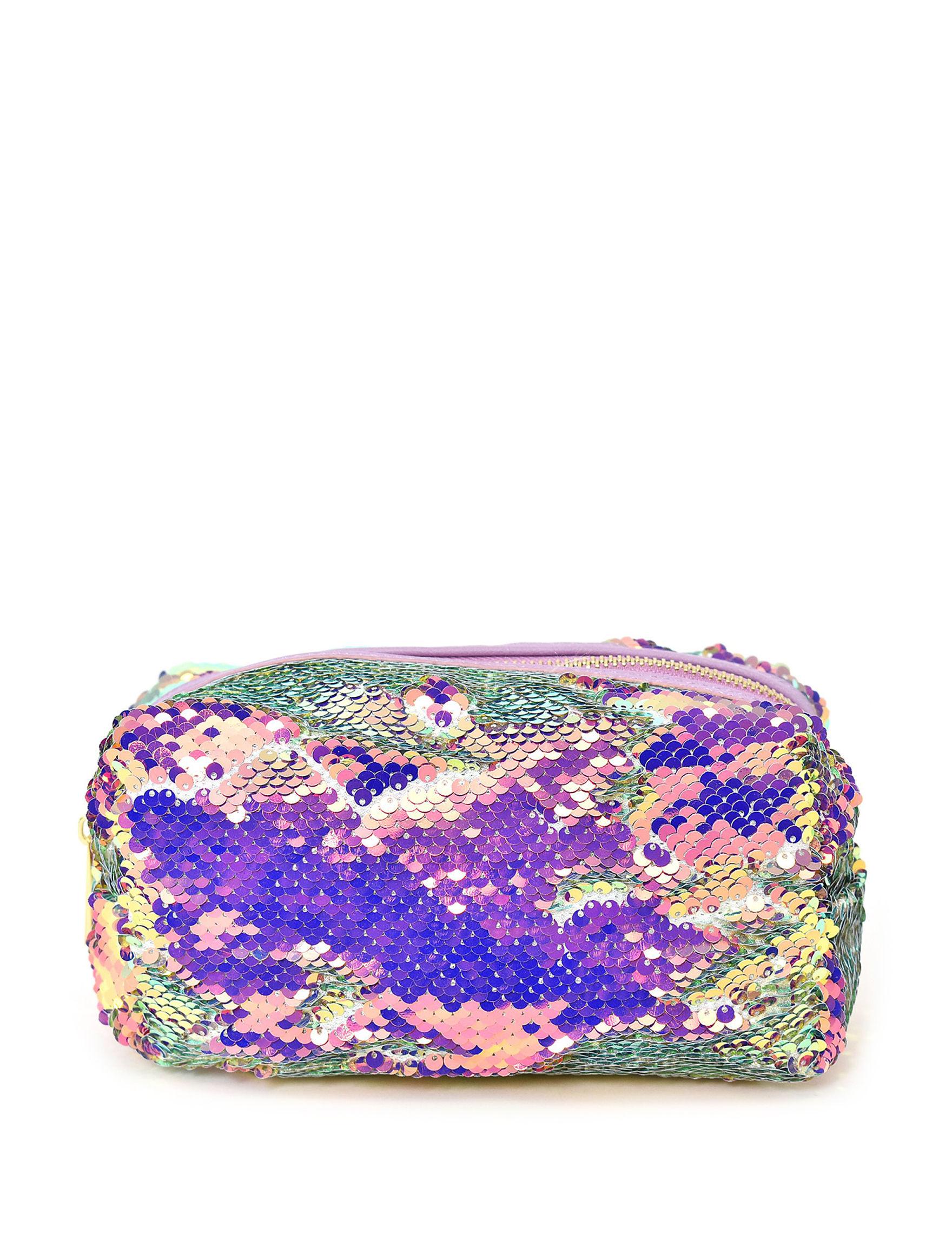 Imoshion Purple Sequin Pouch