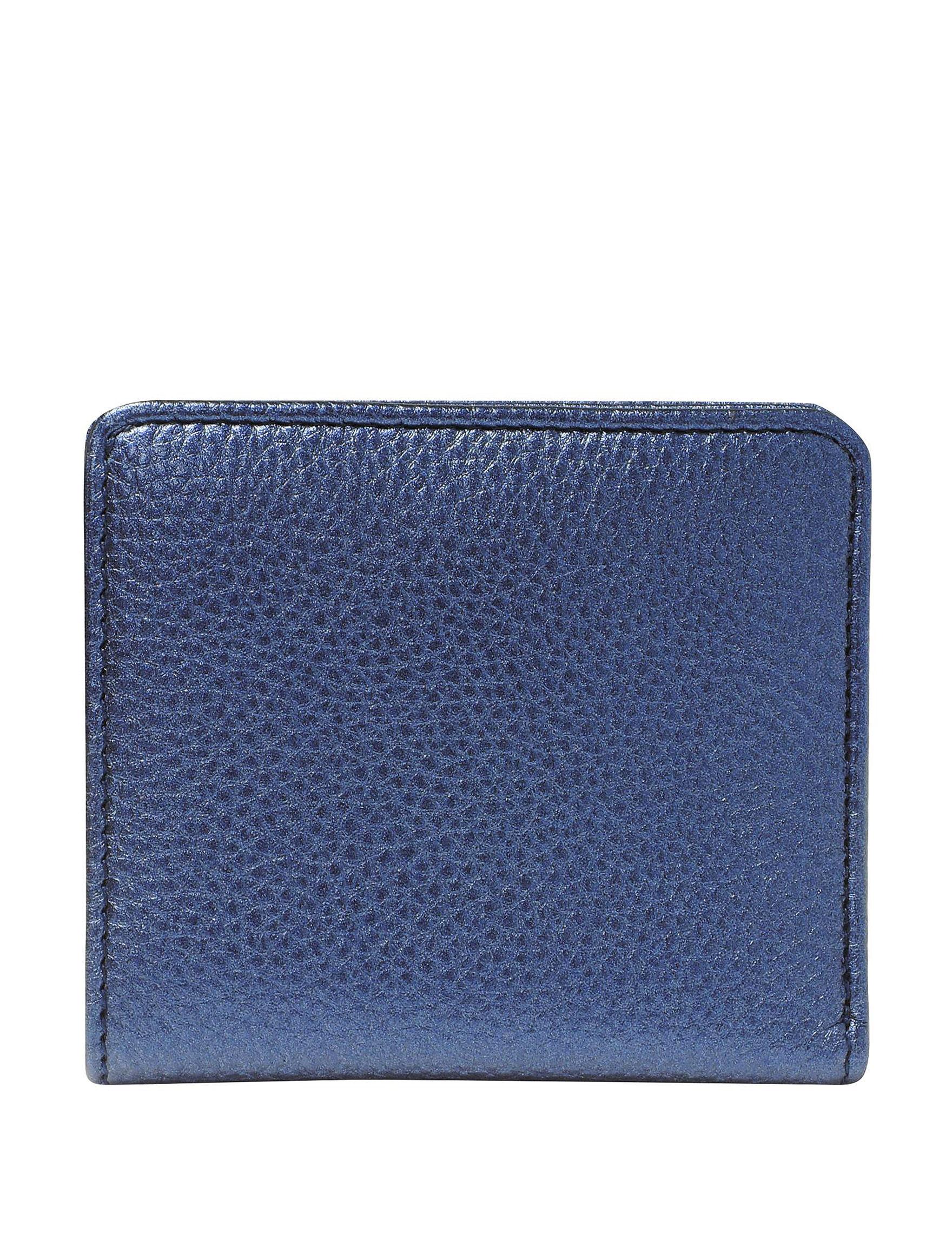 Buxton Metallic Blue