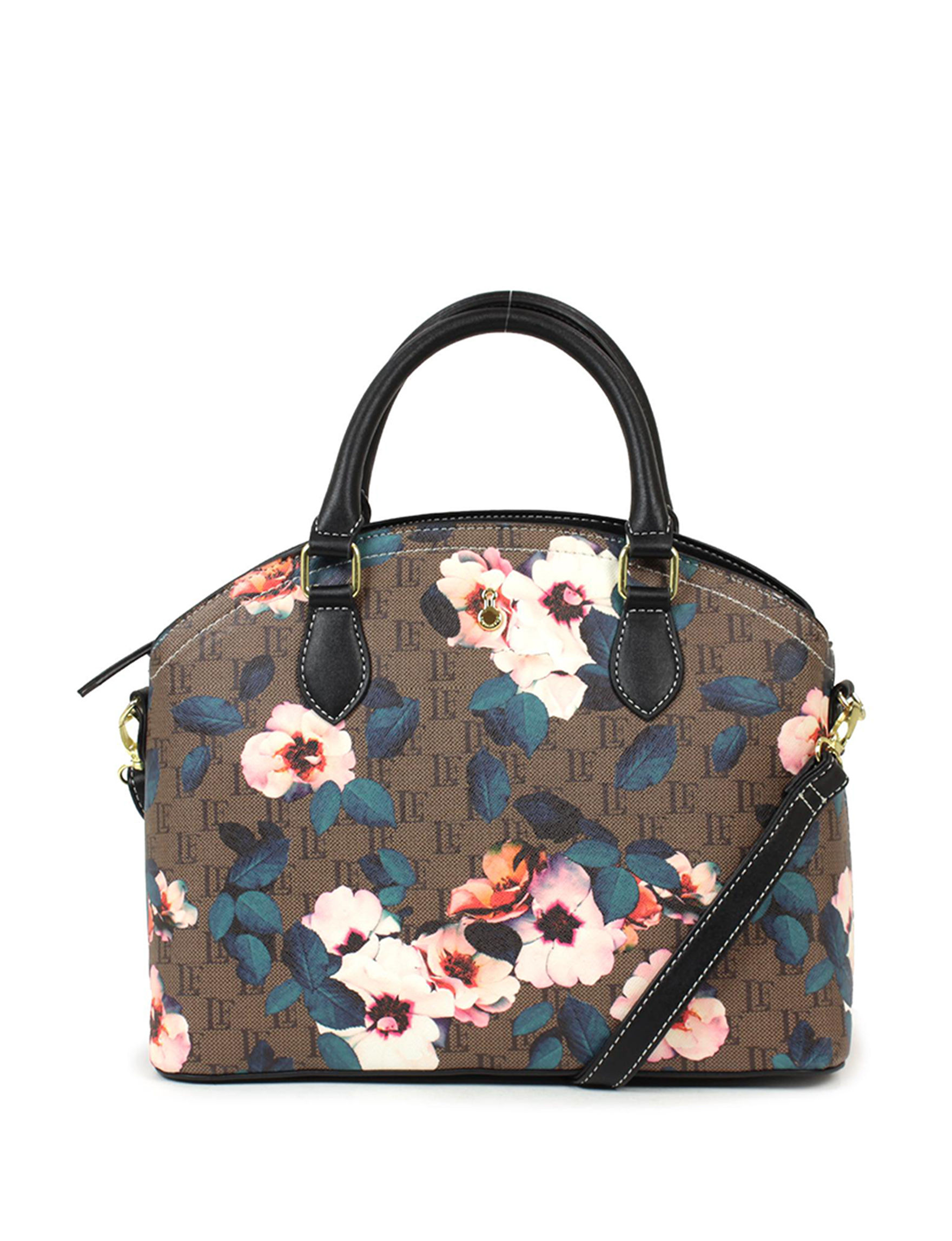 London Fog Brown Floral