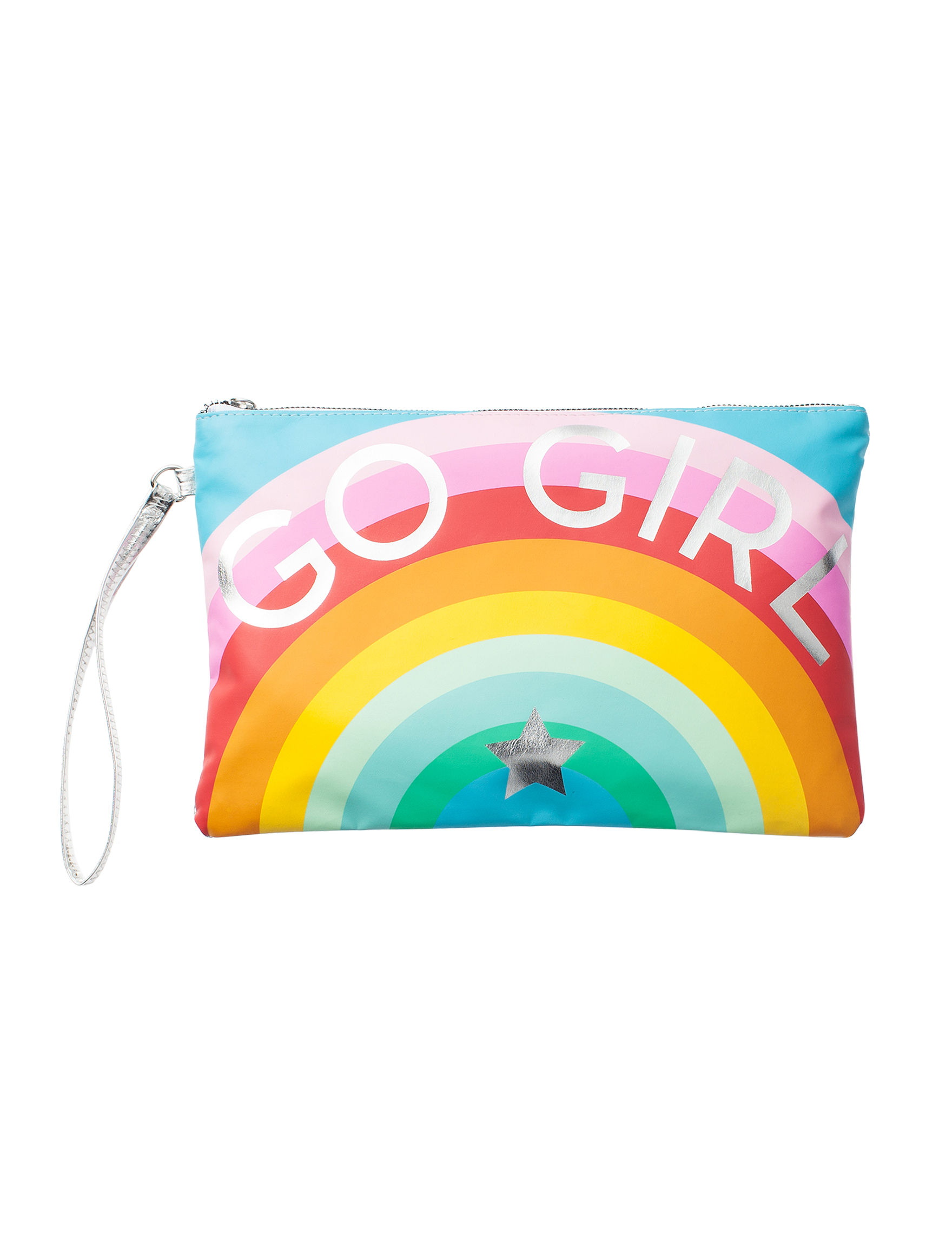 Twig and Arrow Rainbow Pouch