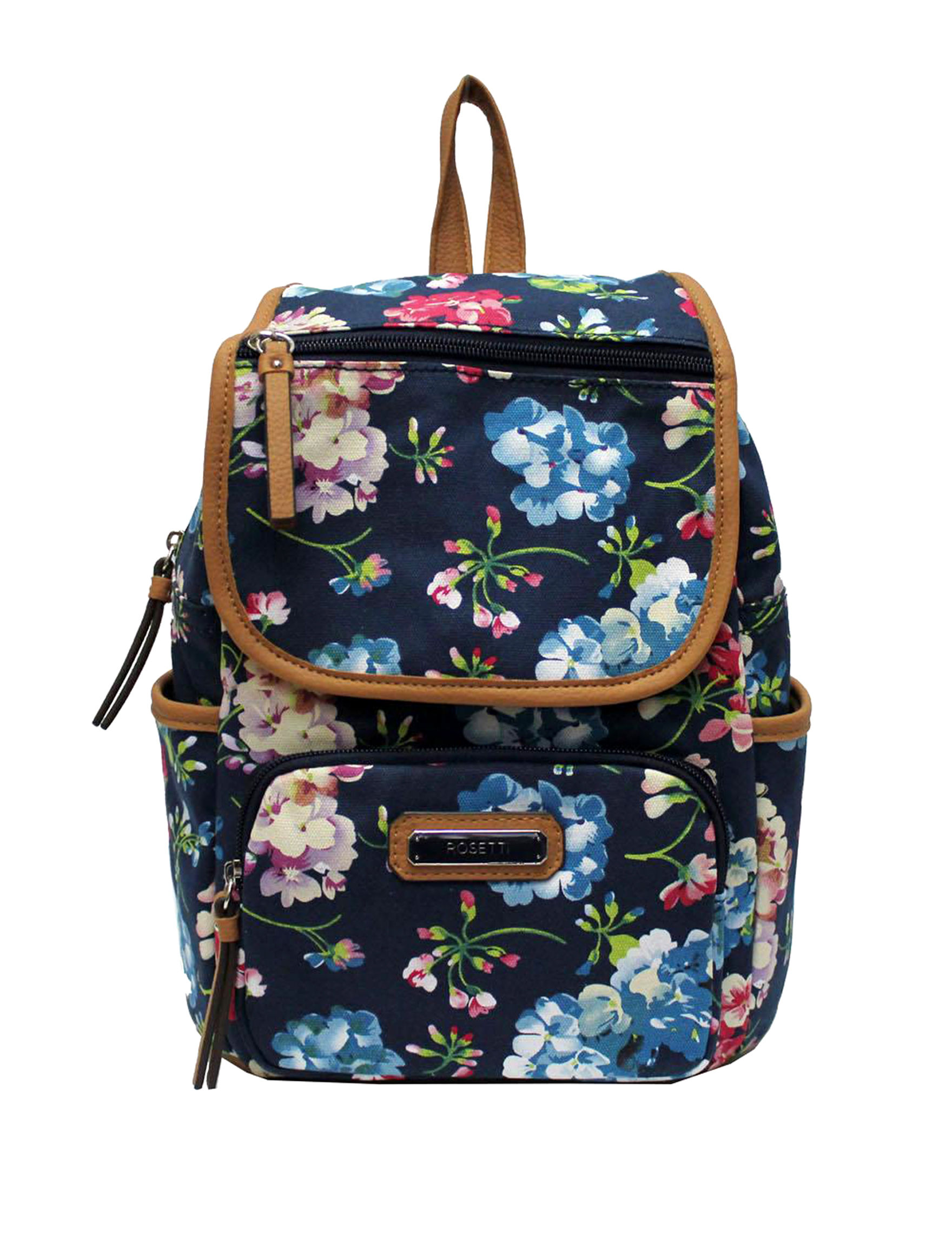 Rosetti Navy Floral Bookbags & Backpacks