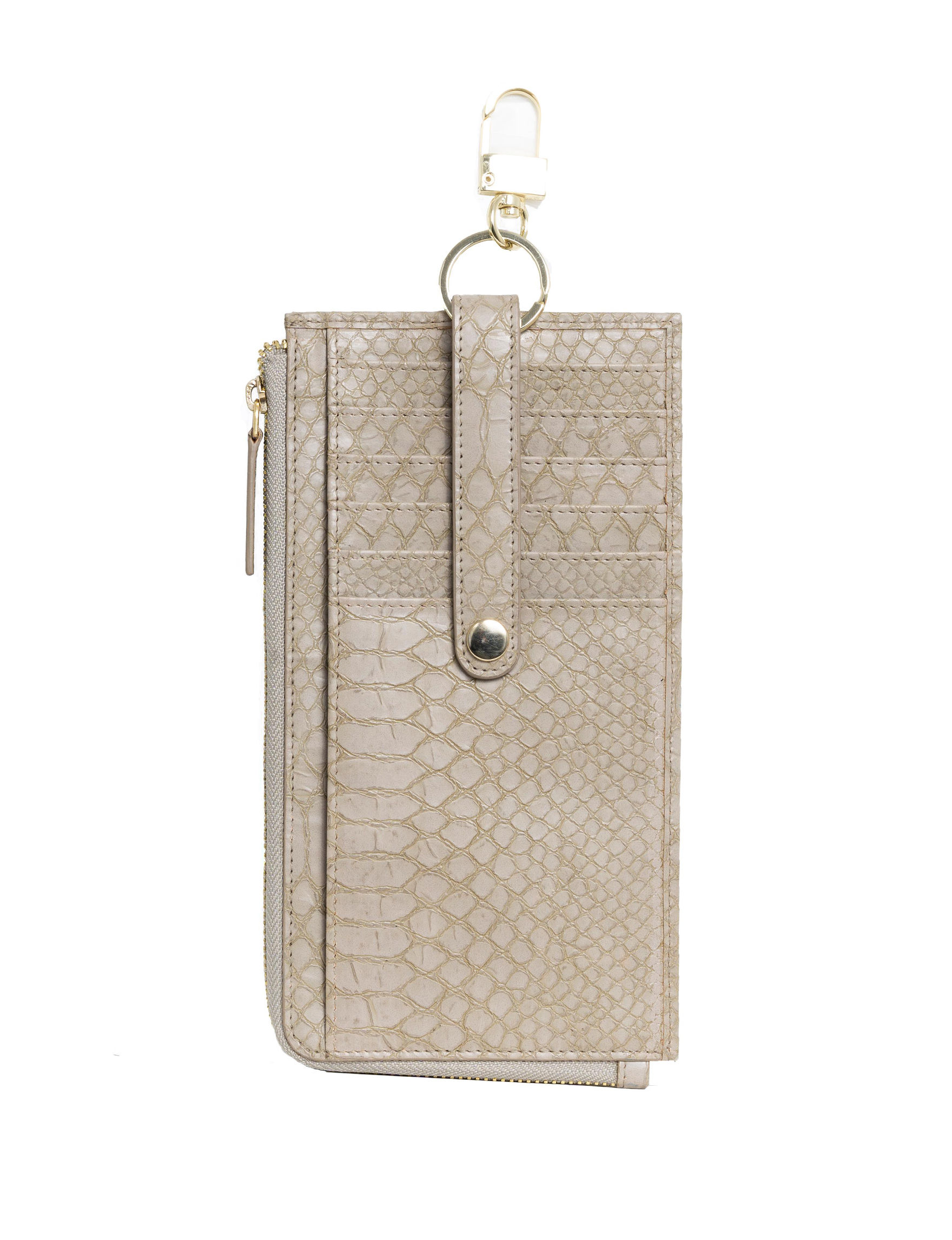 Madison Spencer Grey Snake Wallet