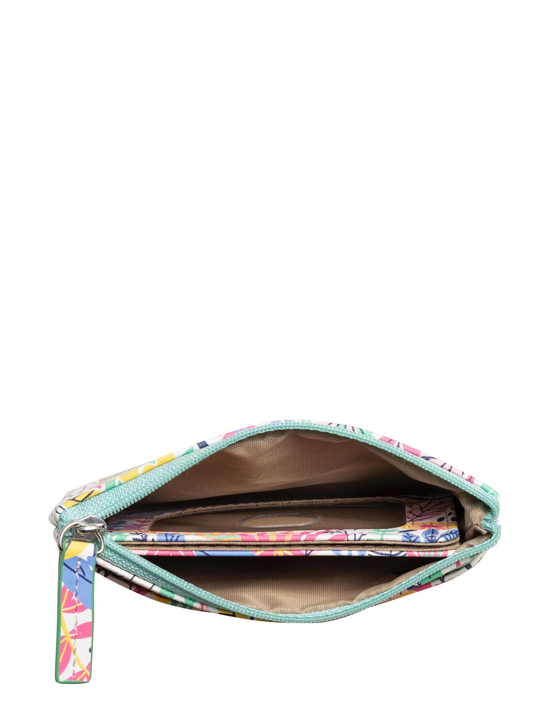 Madison Spencer Pink Floral Wallet