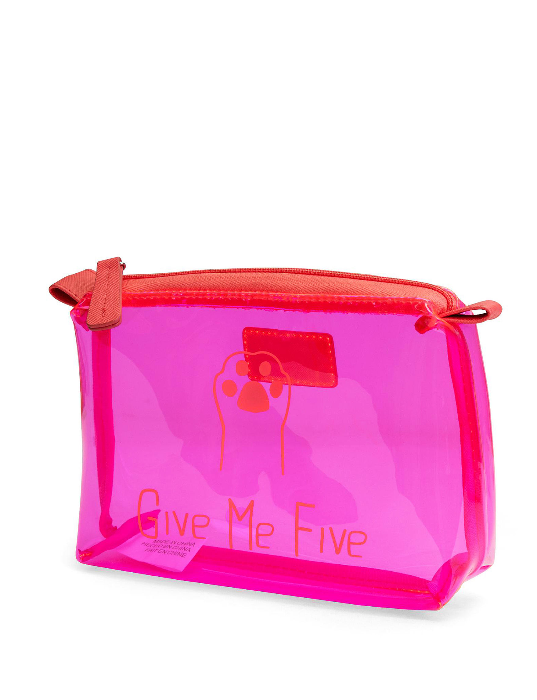 Mundi Bright Red Pouch