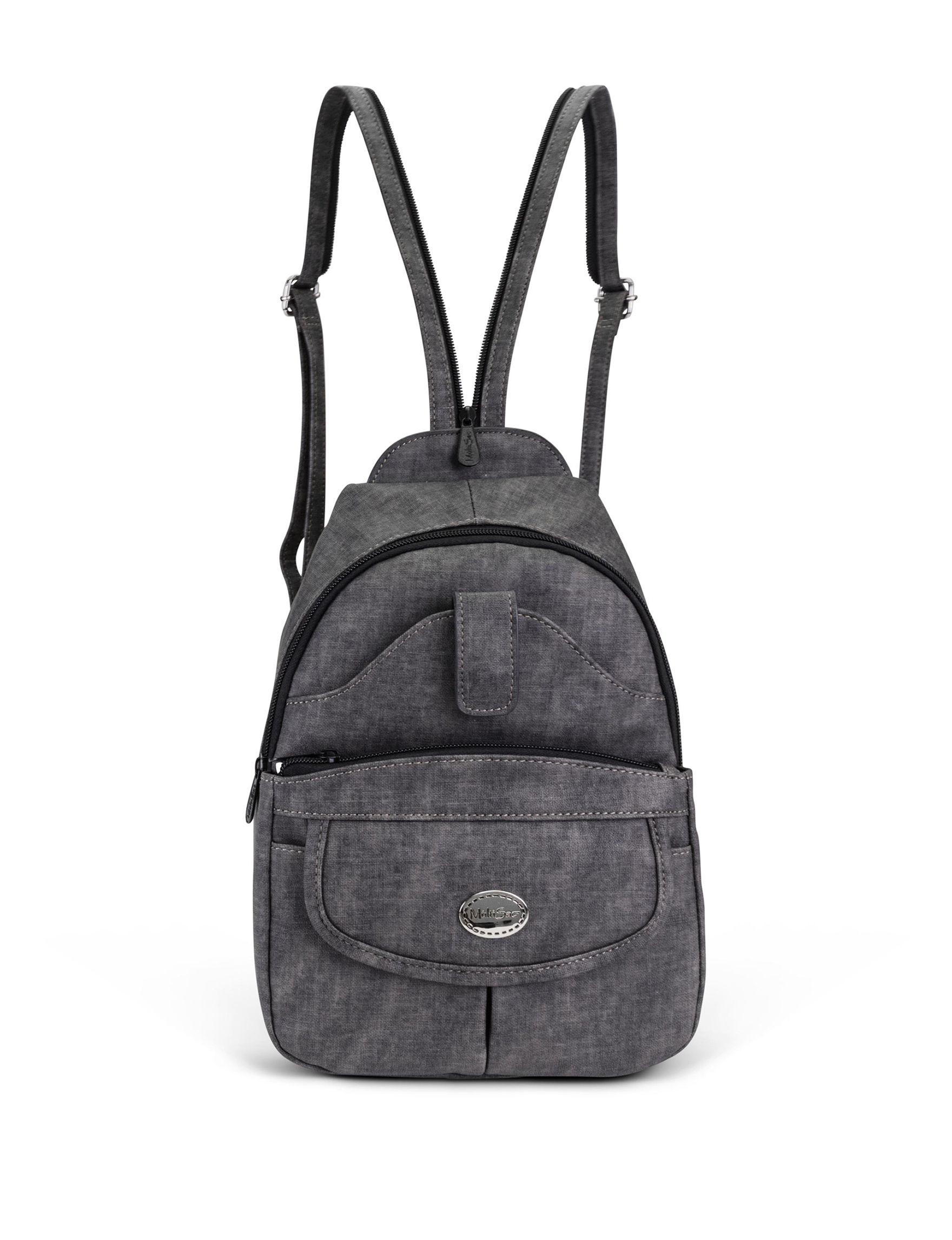 Koltov Heather Black Bookbags & Backpacks