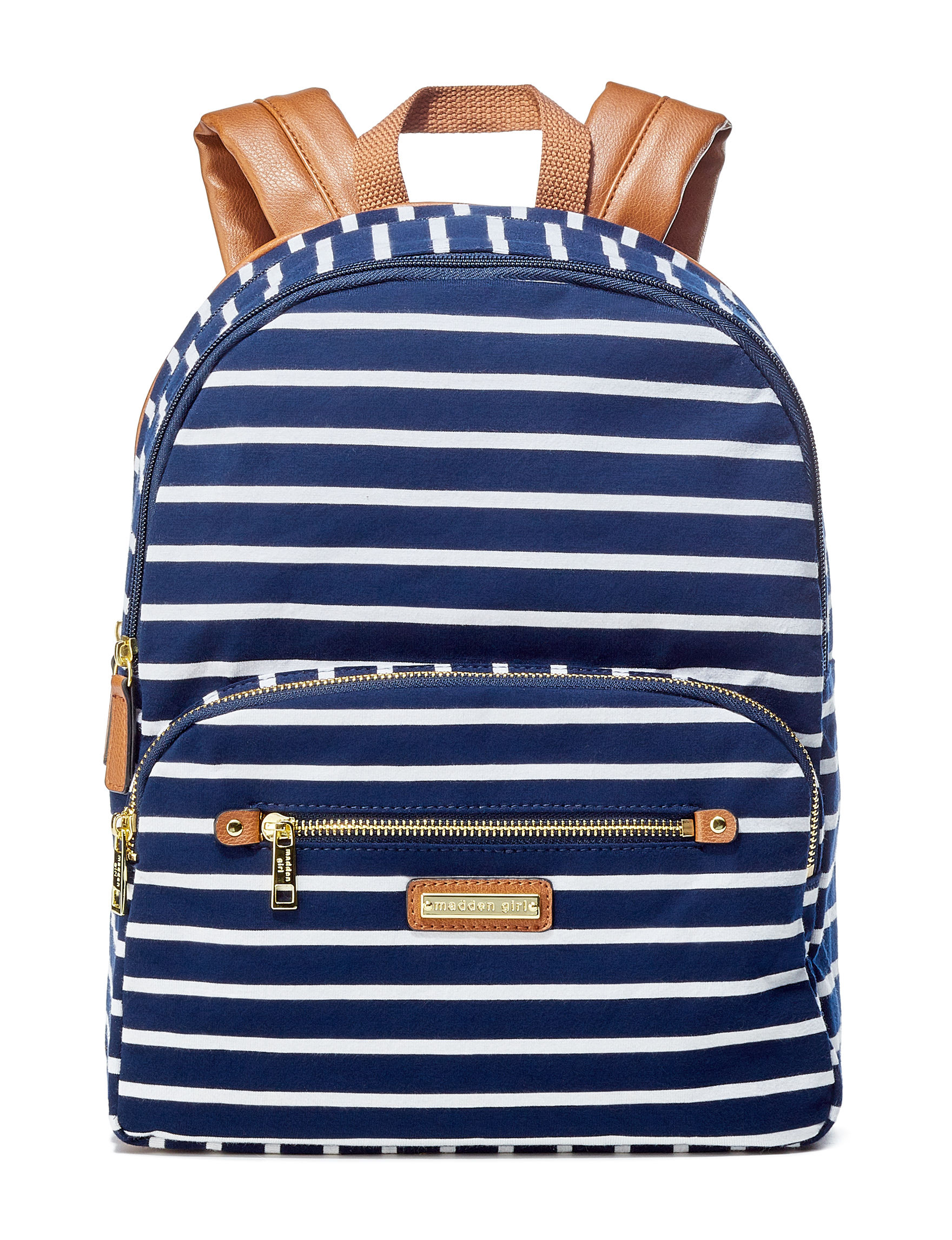 Madden Girl Navy / Multi Bookbags & Backpacks