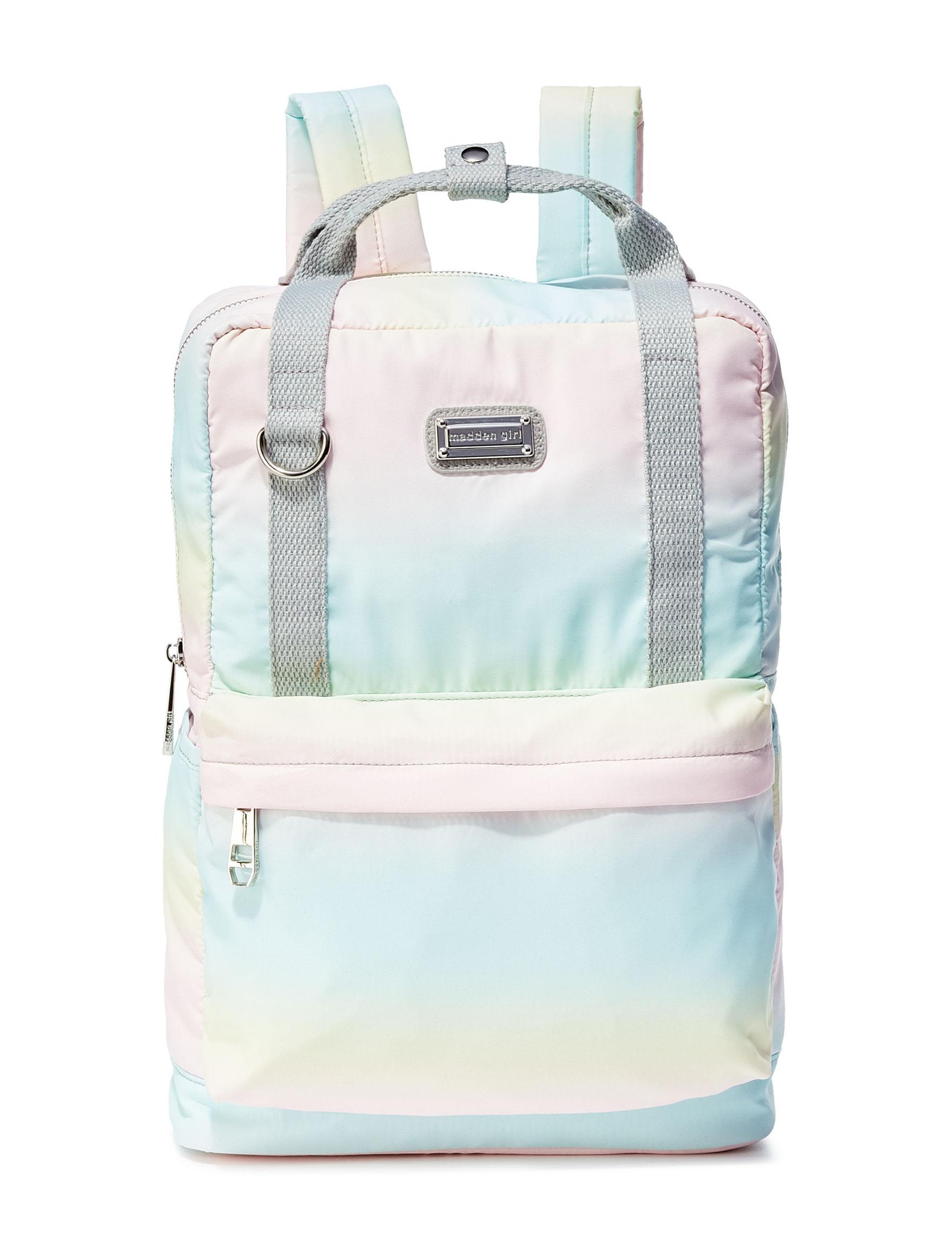 Madden Girl Pink / Multi Bookbags & Backpacks